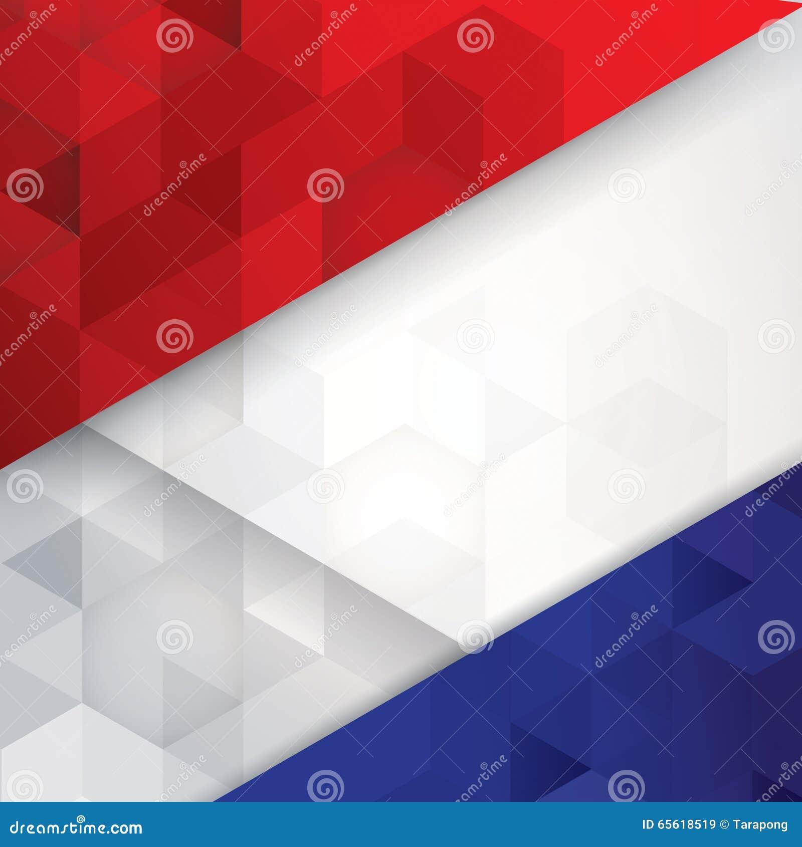 La Bandera De Francia Colorea El Fondo Abstracto Ilustración del ...