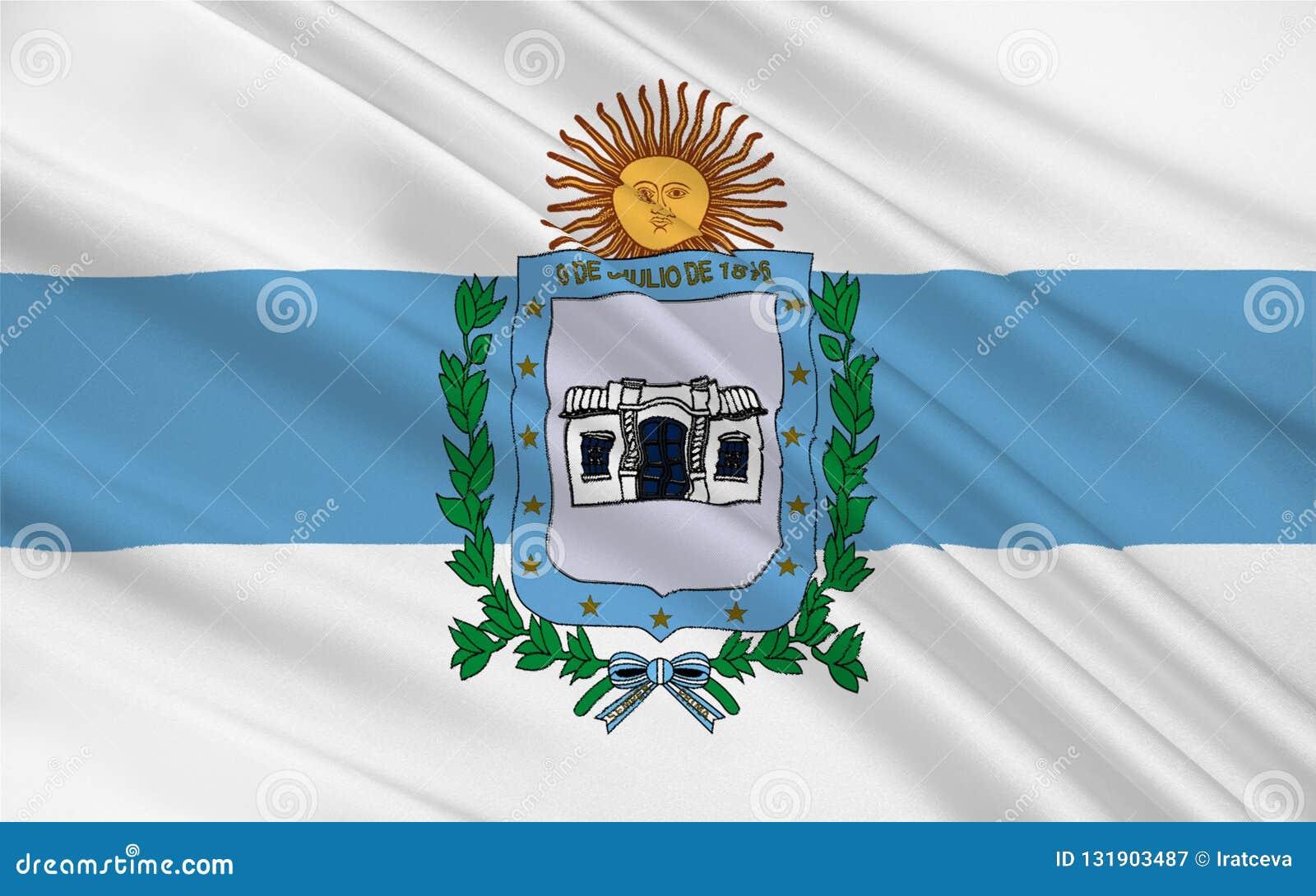 La bandera de San que Miguel de Tucuman es la capital de Tucumán es una favorable