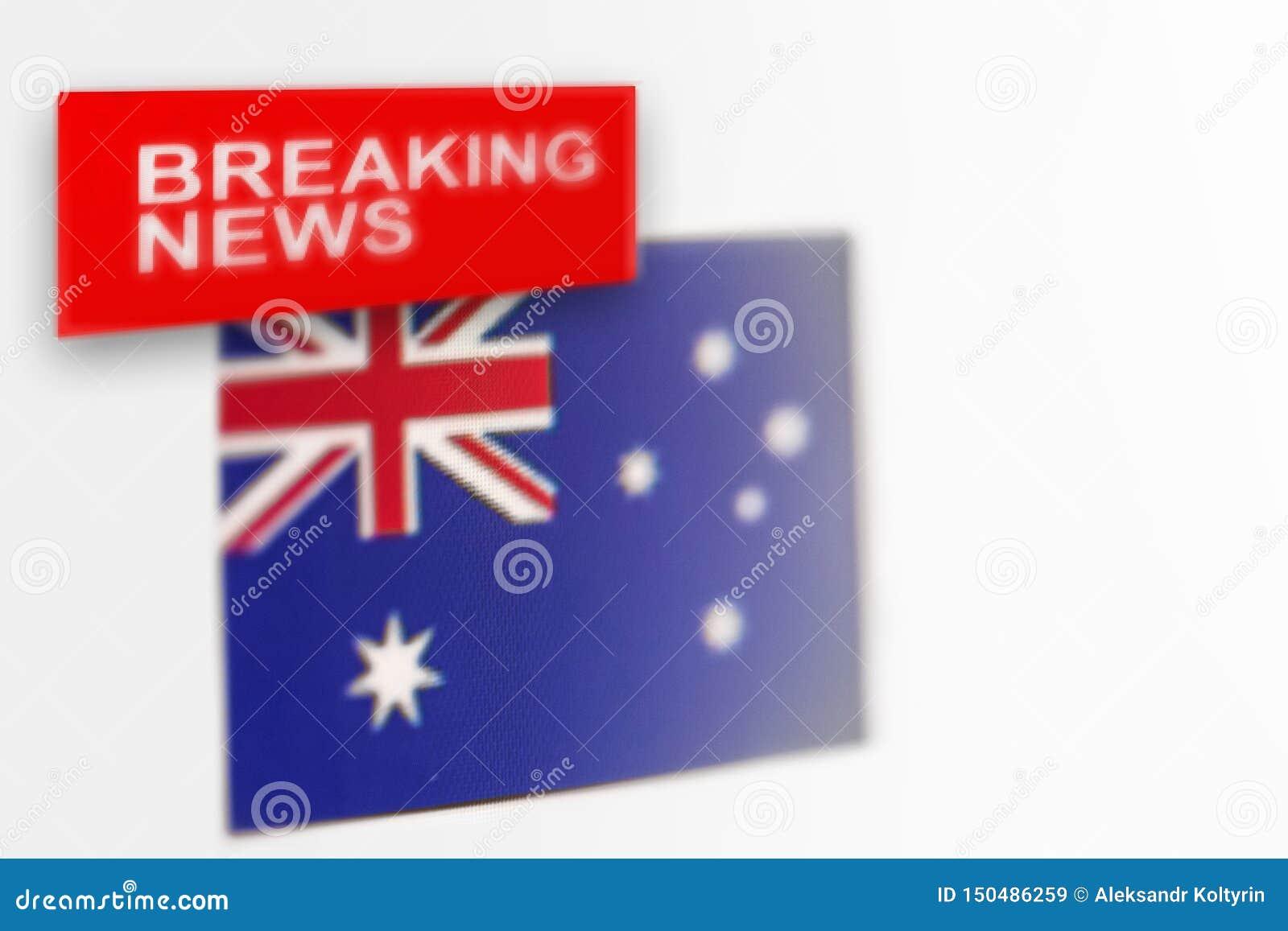 La bandiera del paese dell Australia, di ultime notizie e le notizie dell iscrizione