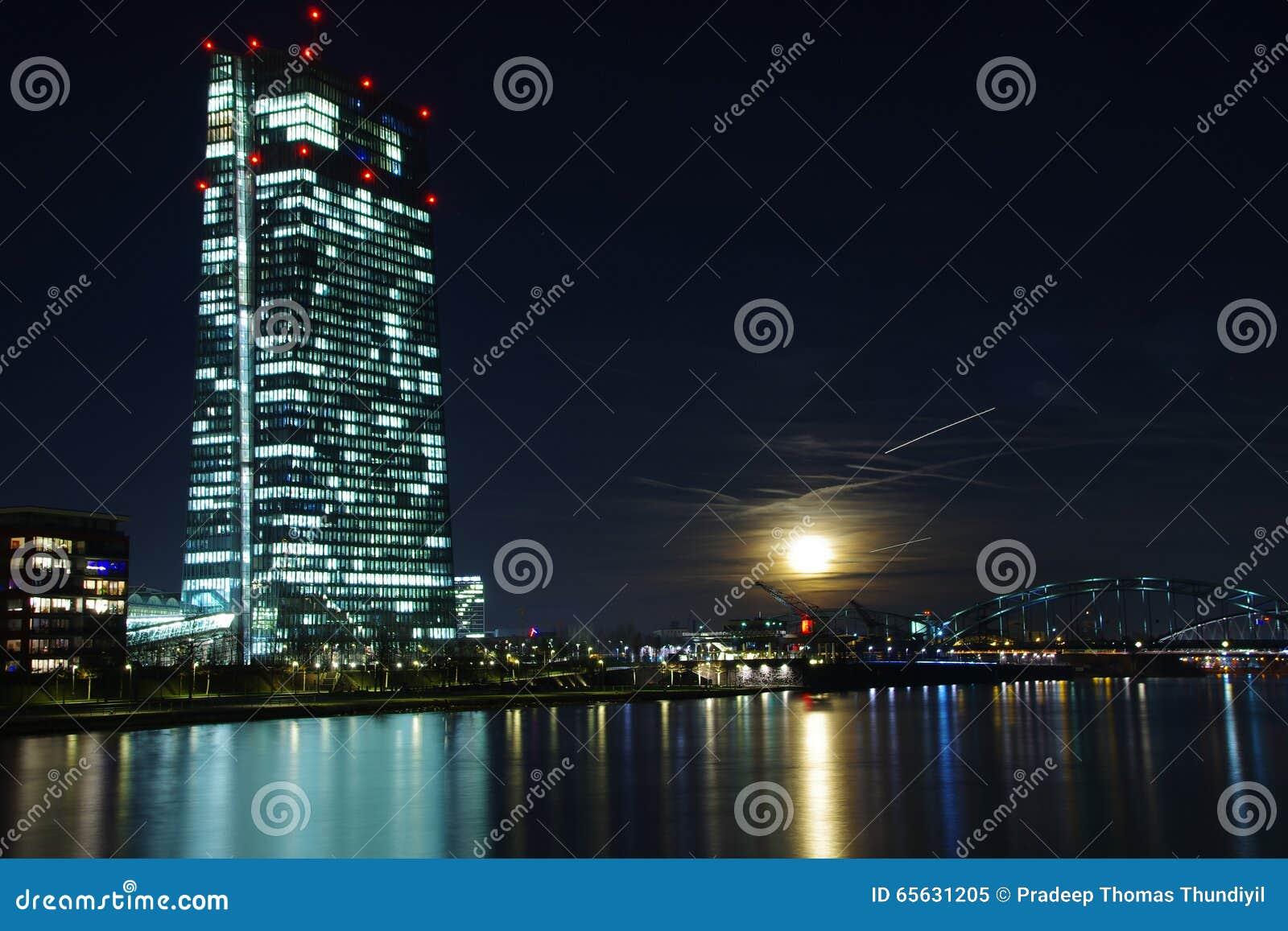 La Banque Centrale Européenne, Francfort