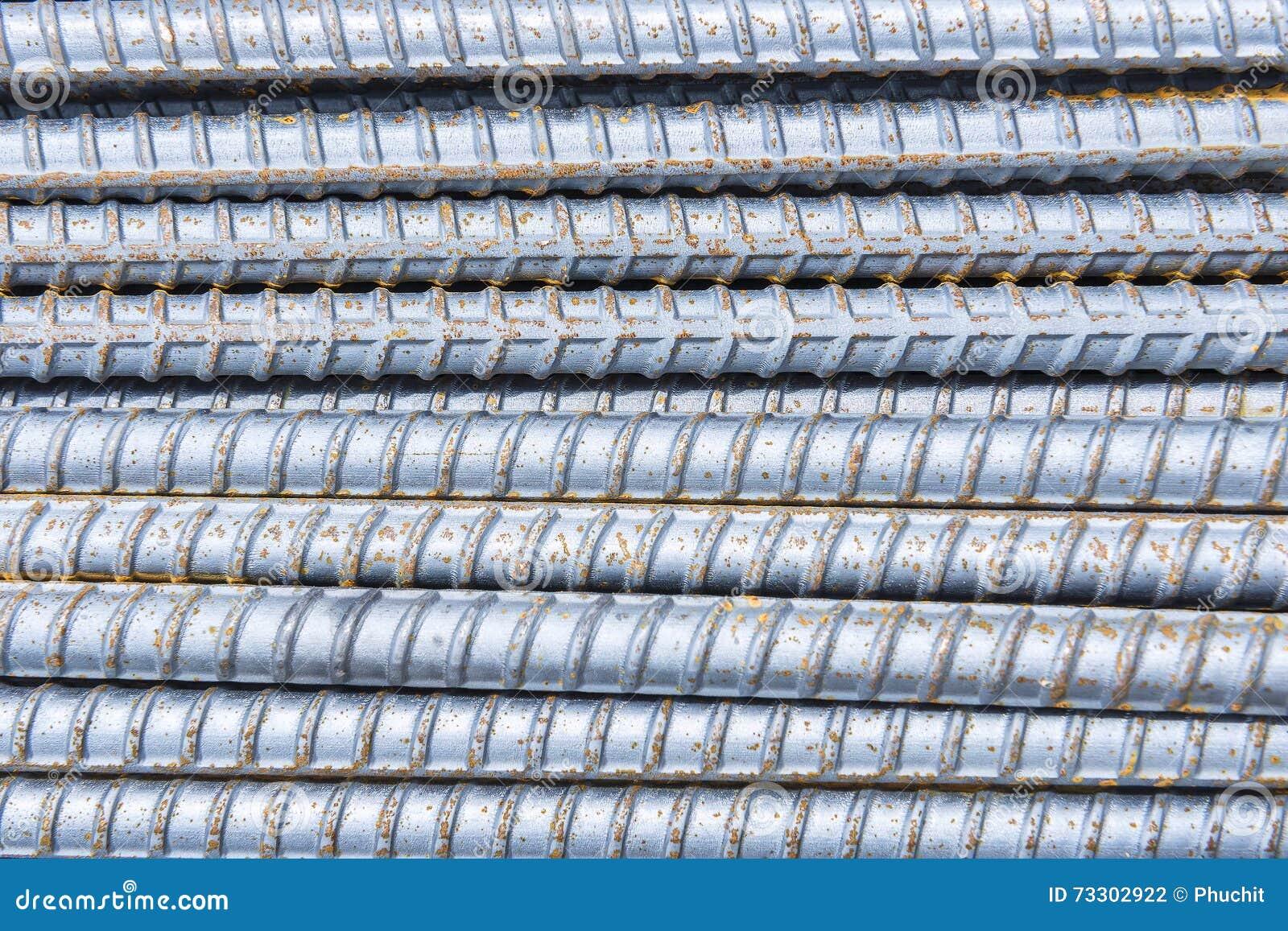 La barre de déformer, l acier déforment la pile de barre