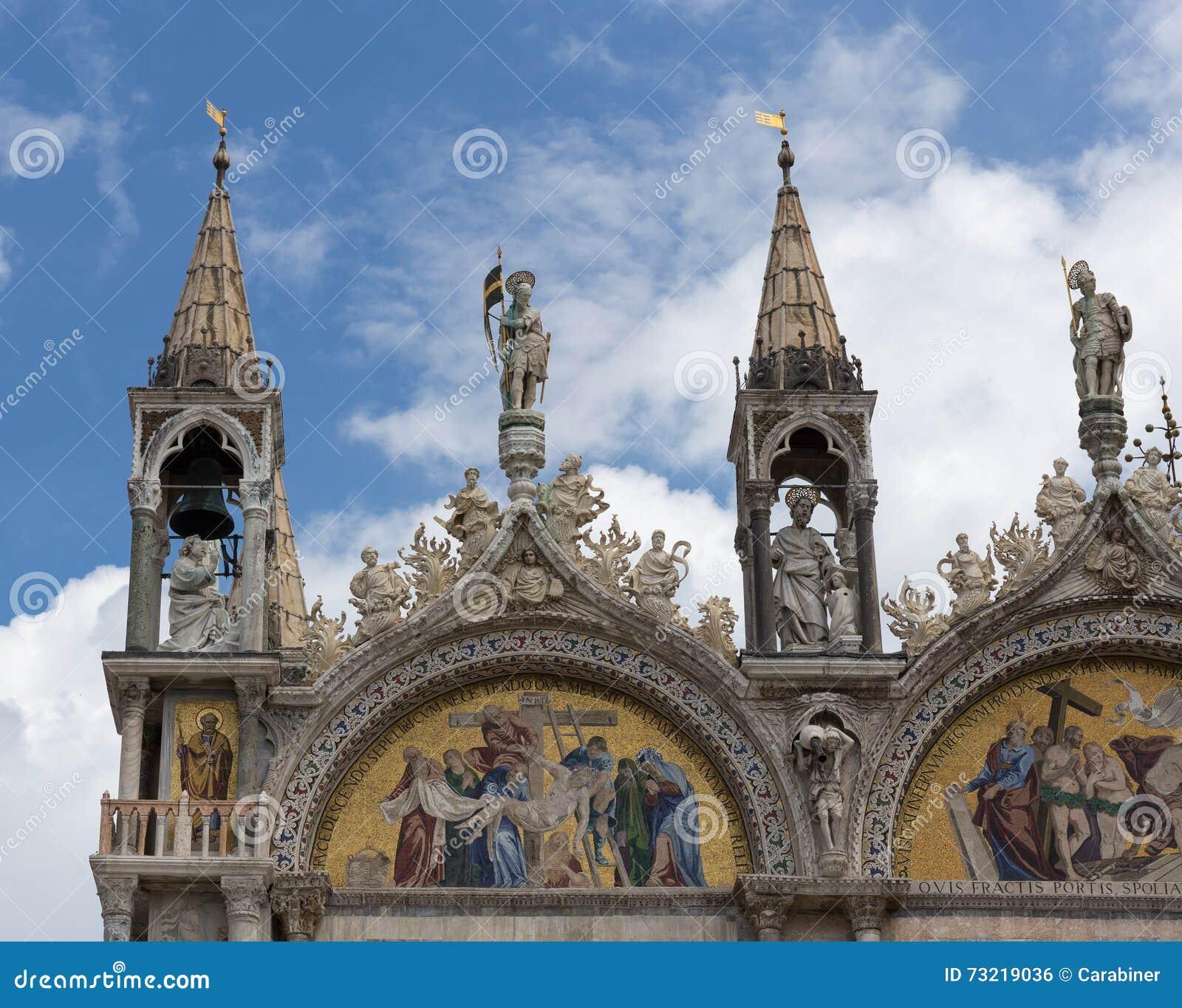 La basílica patriarcal de la catedral de St Mark es iglesia de la catedral