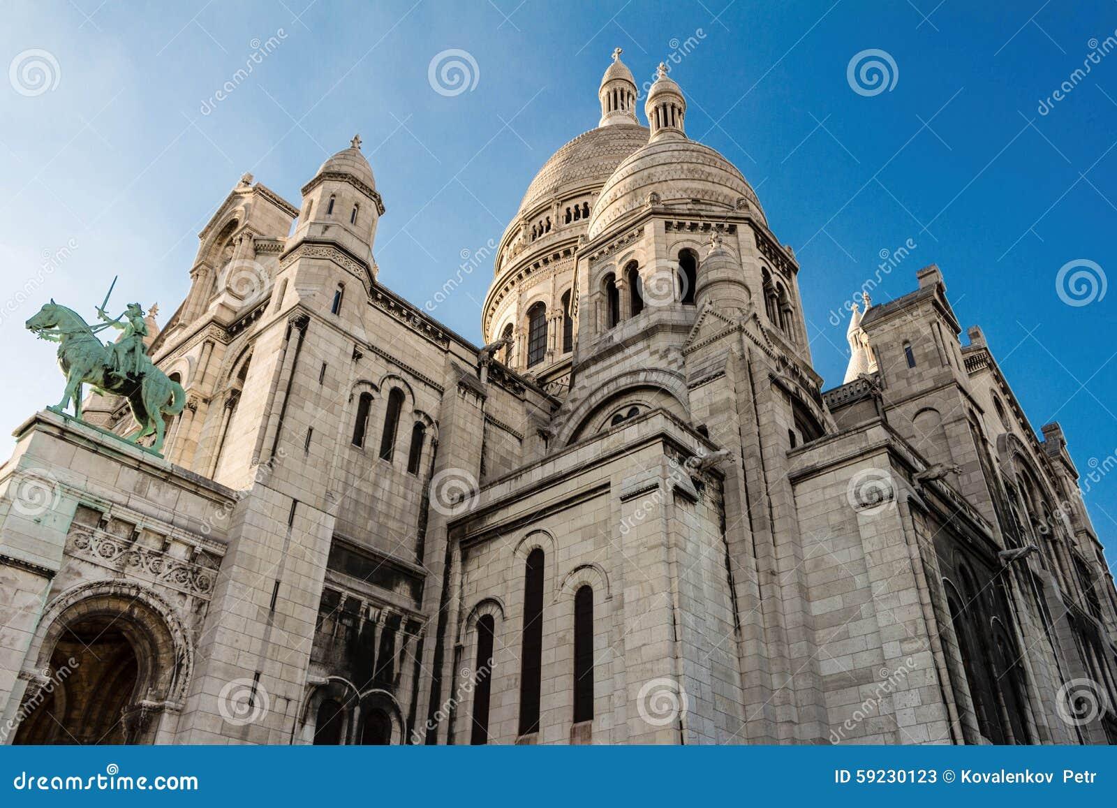 La basílica Sacre Coeur, París, Francia