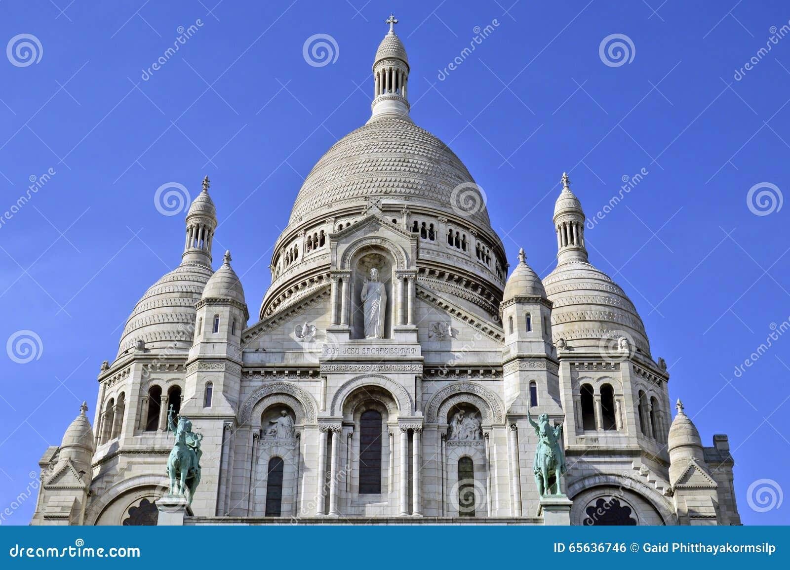 La basilique du coeur sacré de Paris