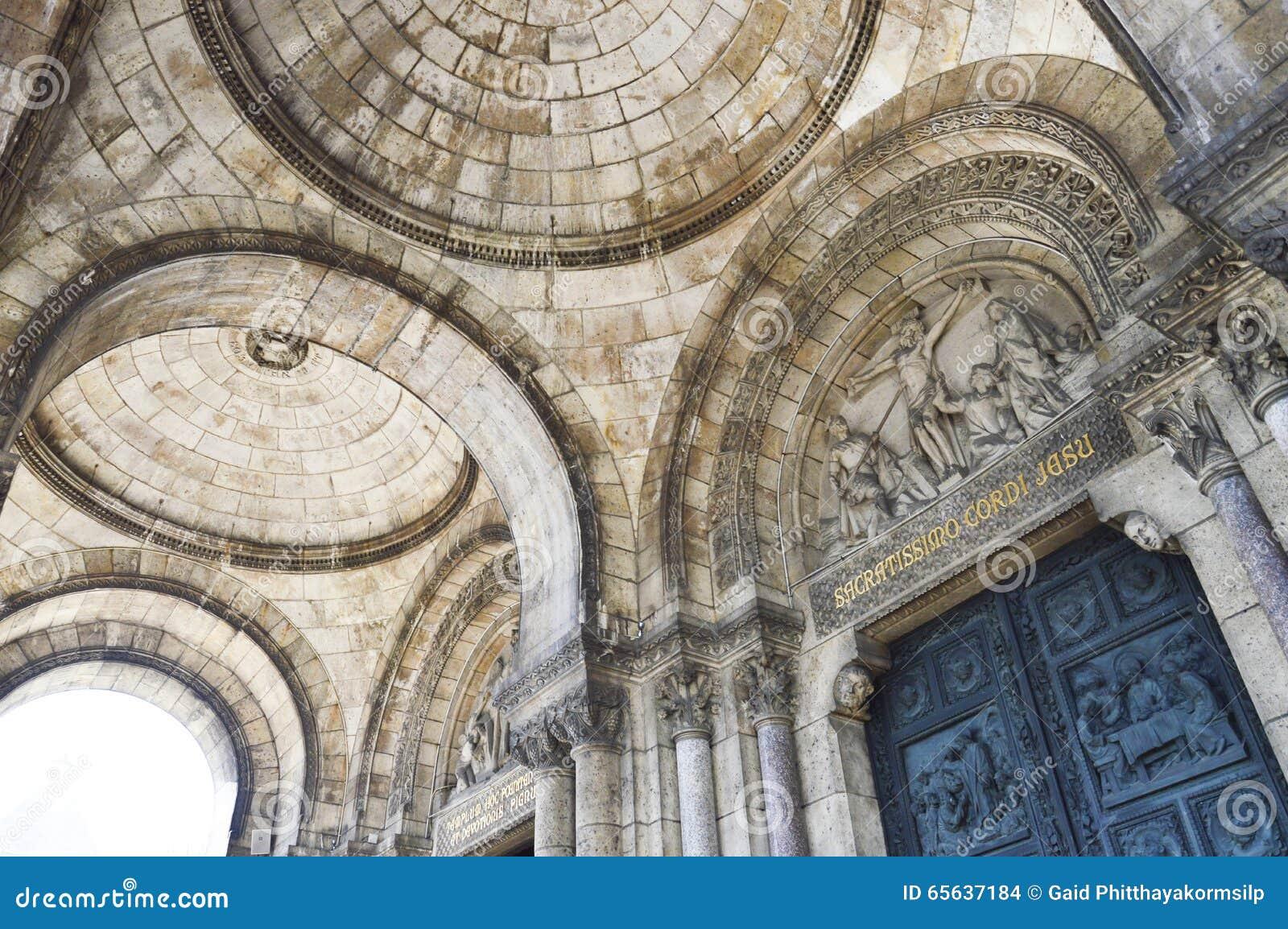 La basilique du coeur sacré de Paris, un chur catholique