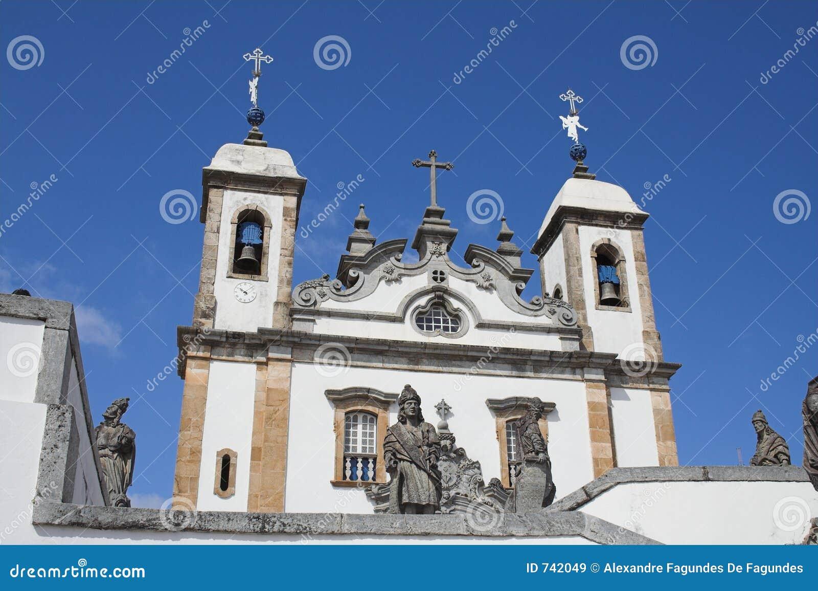 La basilique font Senhor Bom Jésus de Matosinhos