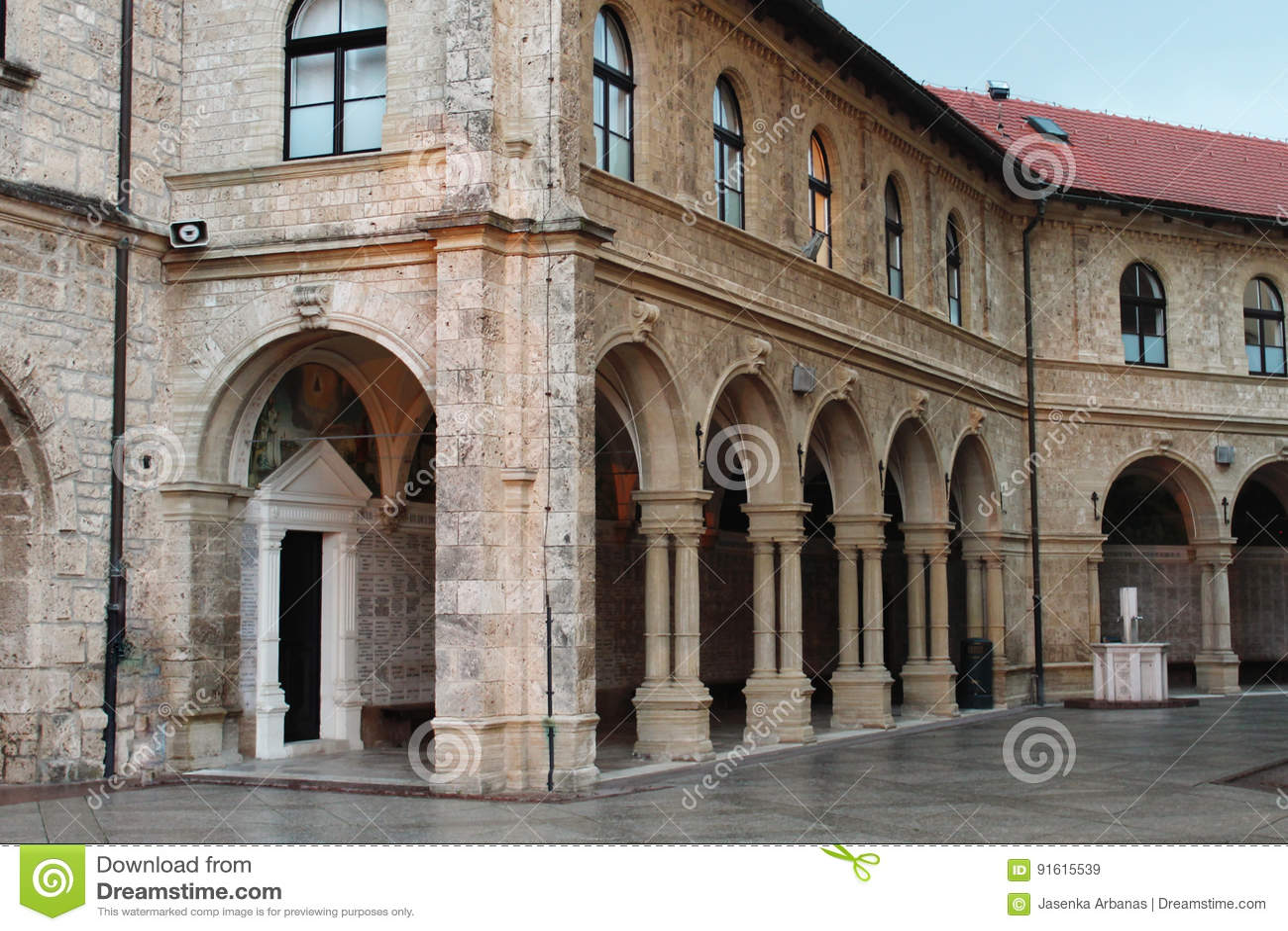 La basilique Mary de Bistrica-Marija Bistrica