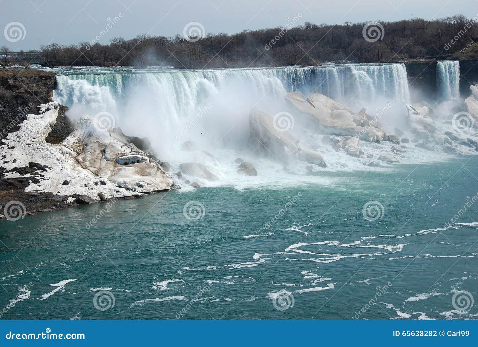 La beauté des chutes du Niagara