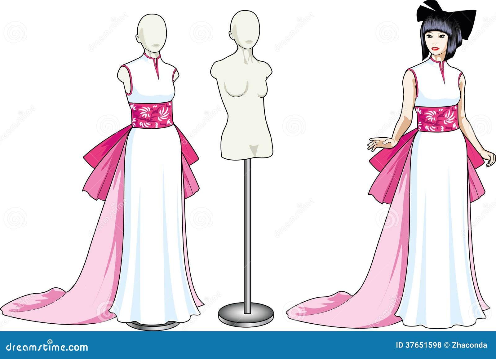 Spectacle de mariée asiatique est