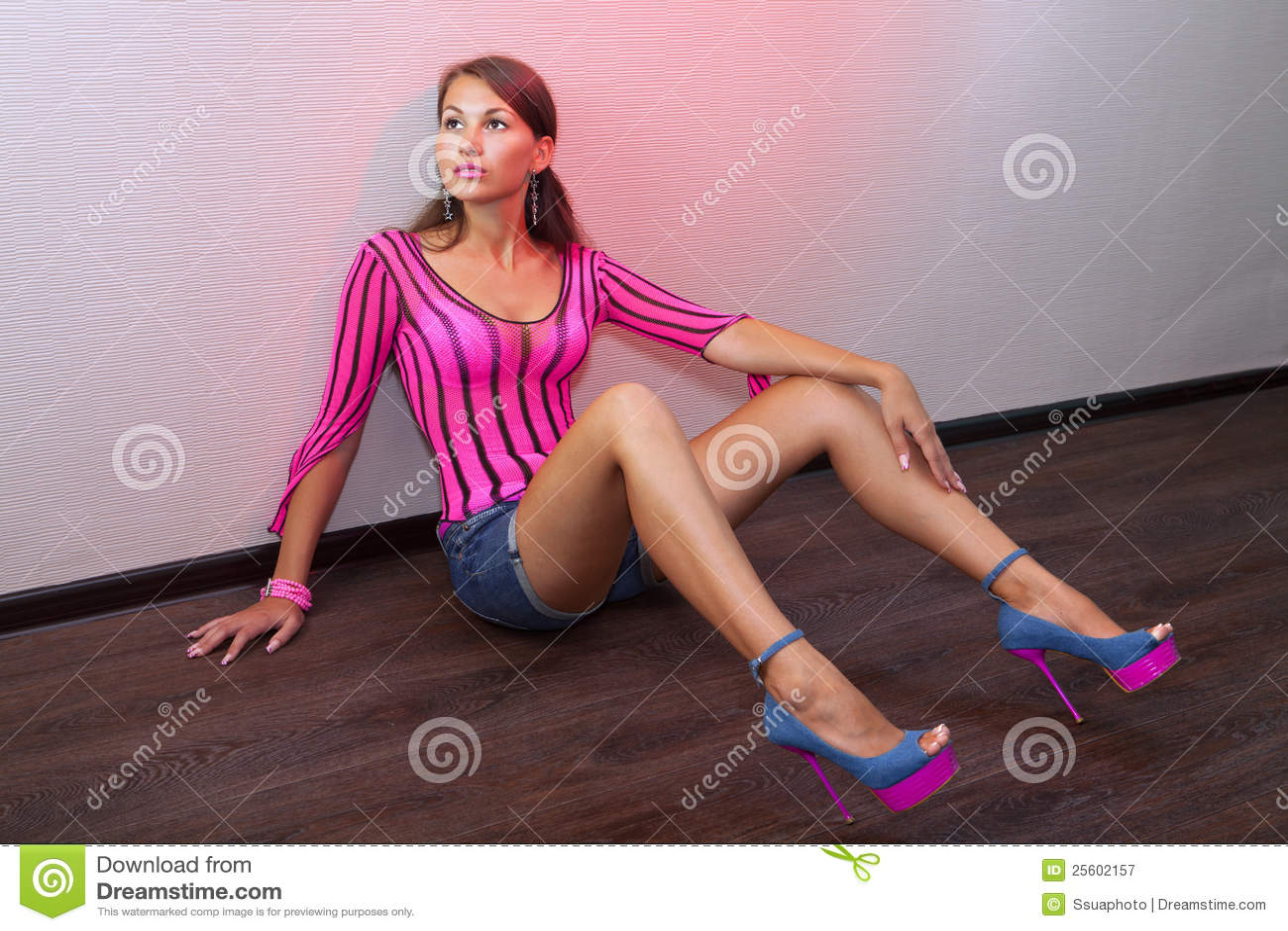 Photo sexy de femme mure