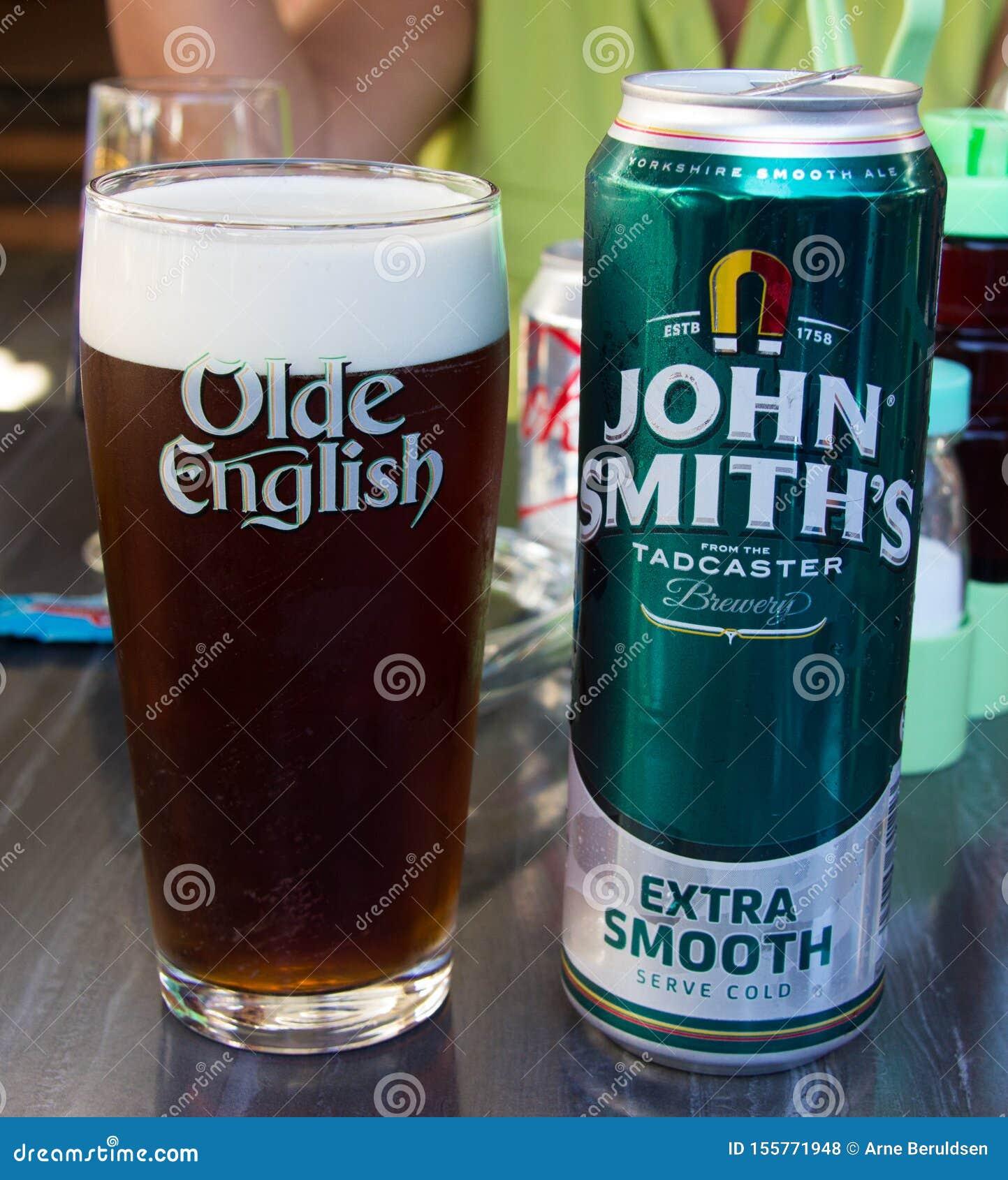 La bière anglaise de John Smith