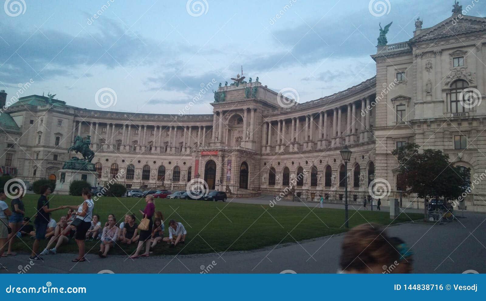 La biblioteca nacional de Austria en Wien