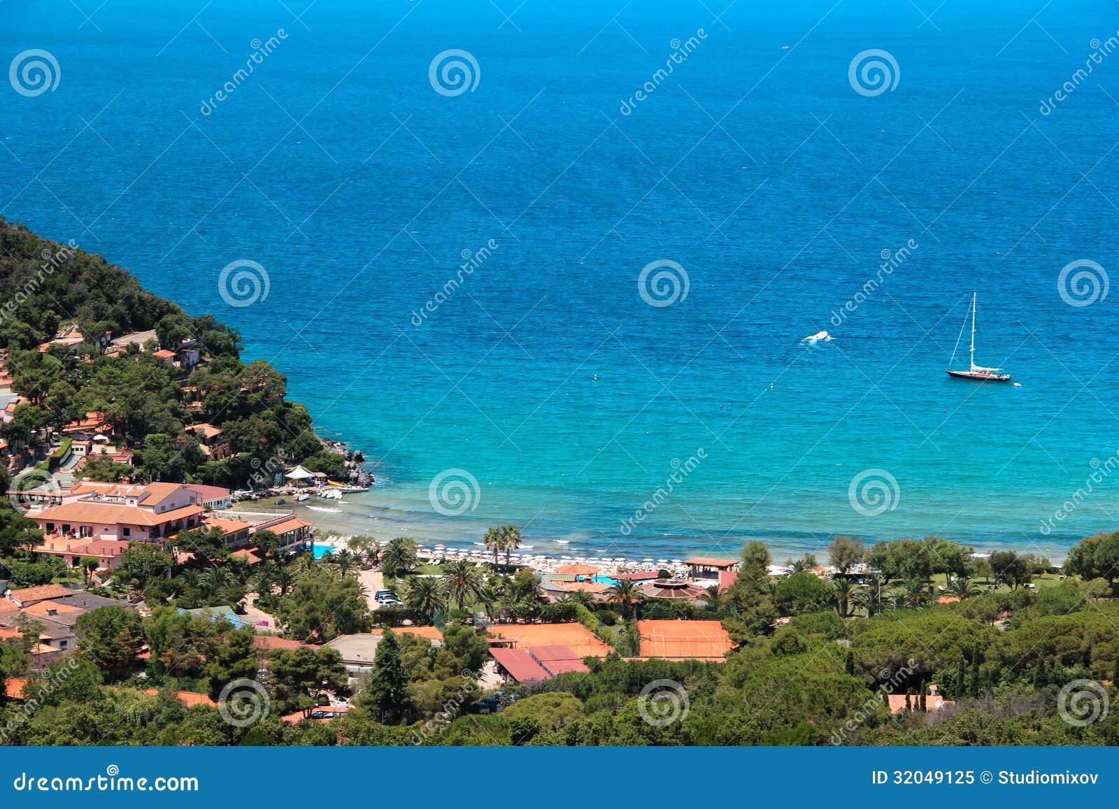 Procchio Italy  City pictures : La Biodola Beach, Procchio, Elba Island. Italy Royalty Free Stock ...