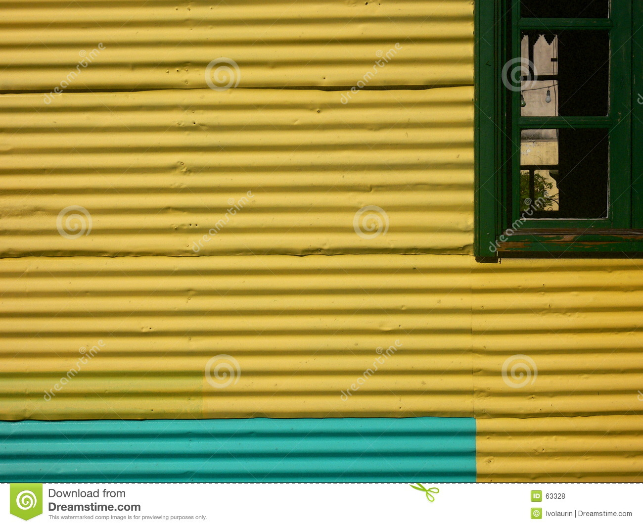 Download La Boca photo stock. Image du hublot, jaune, aires, vert - 63328