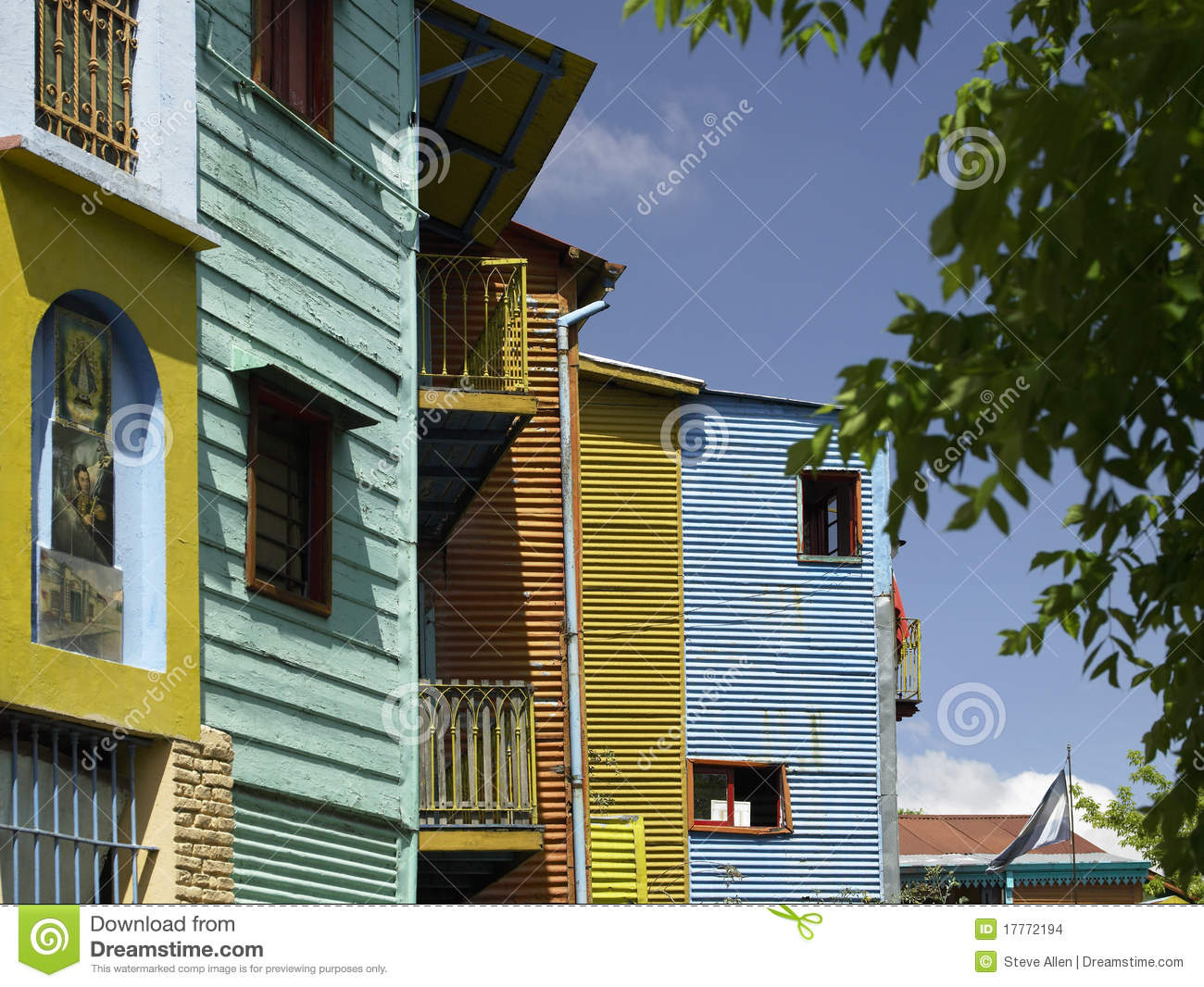 La Boca district of Buenos Aires - Argentina