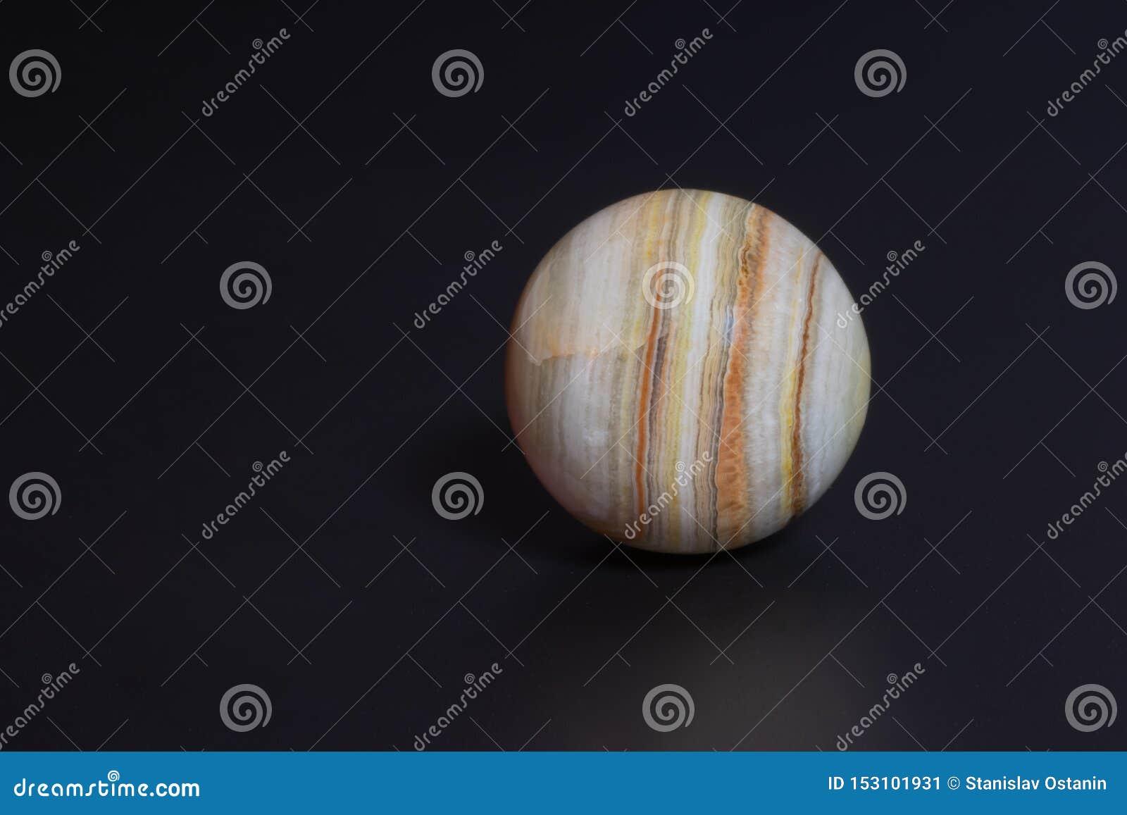 La bola es hermosa e inusual