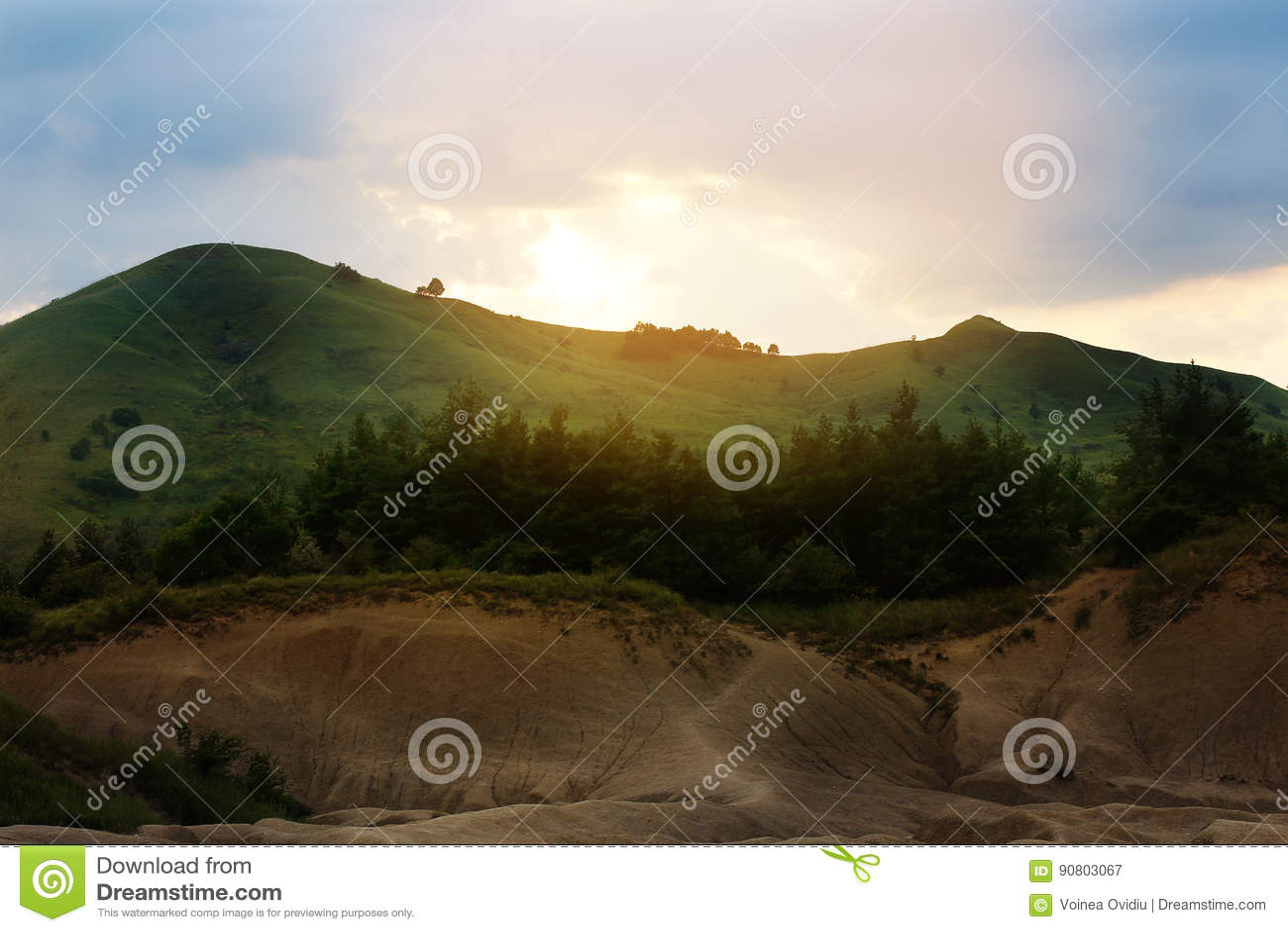 La boue Vulcano
