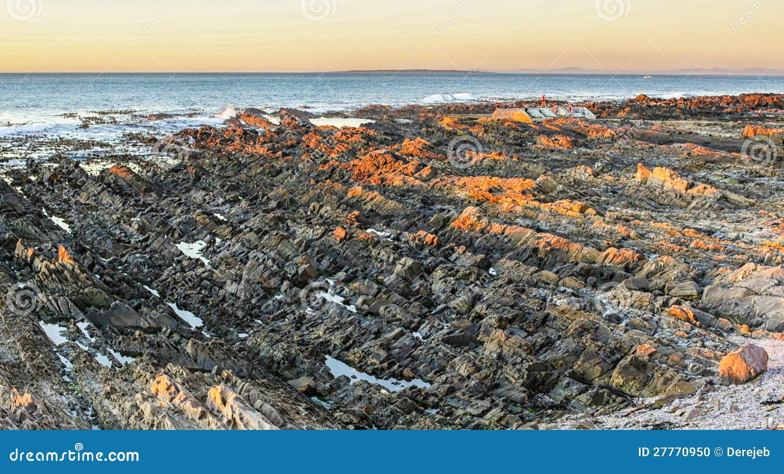 La côte de l Océan Atlantique en Afrique du Sud