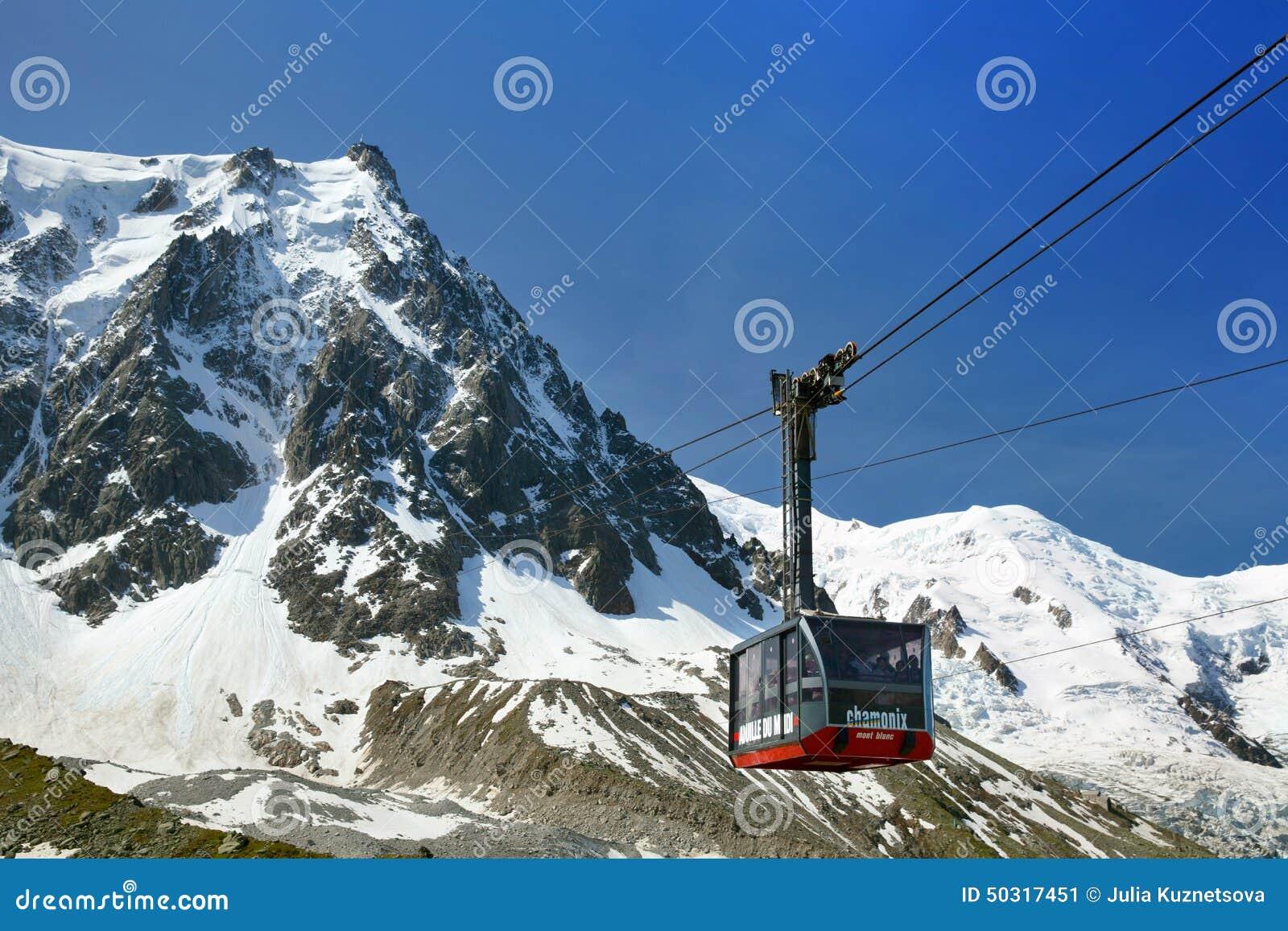 La cabina pi bassa della cabina di funivia di aiguille du for Affitti della cabina di whistler
