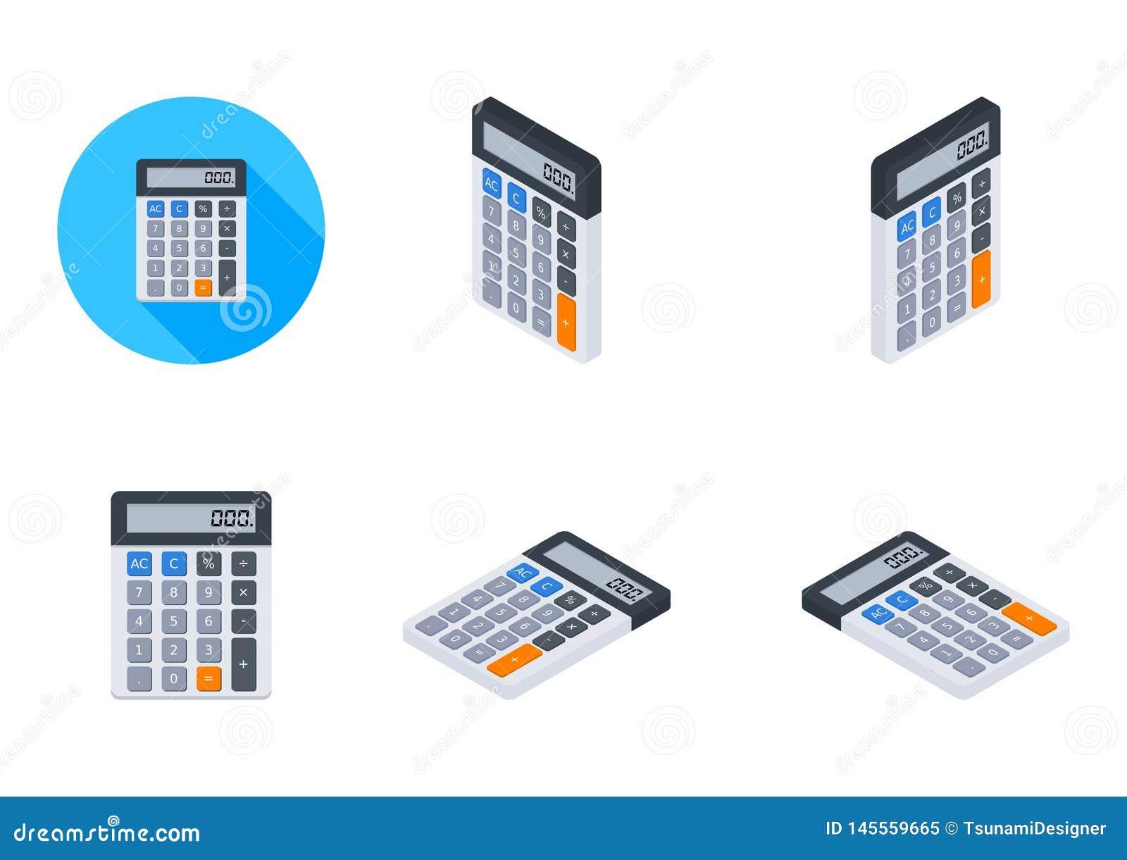 La calculadora electrónica, concepto calcula las finanzas de la cuenta, mobiliario de oficinas, finanzas, negocio, ningún fondo,