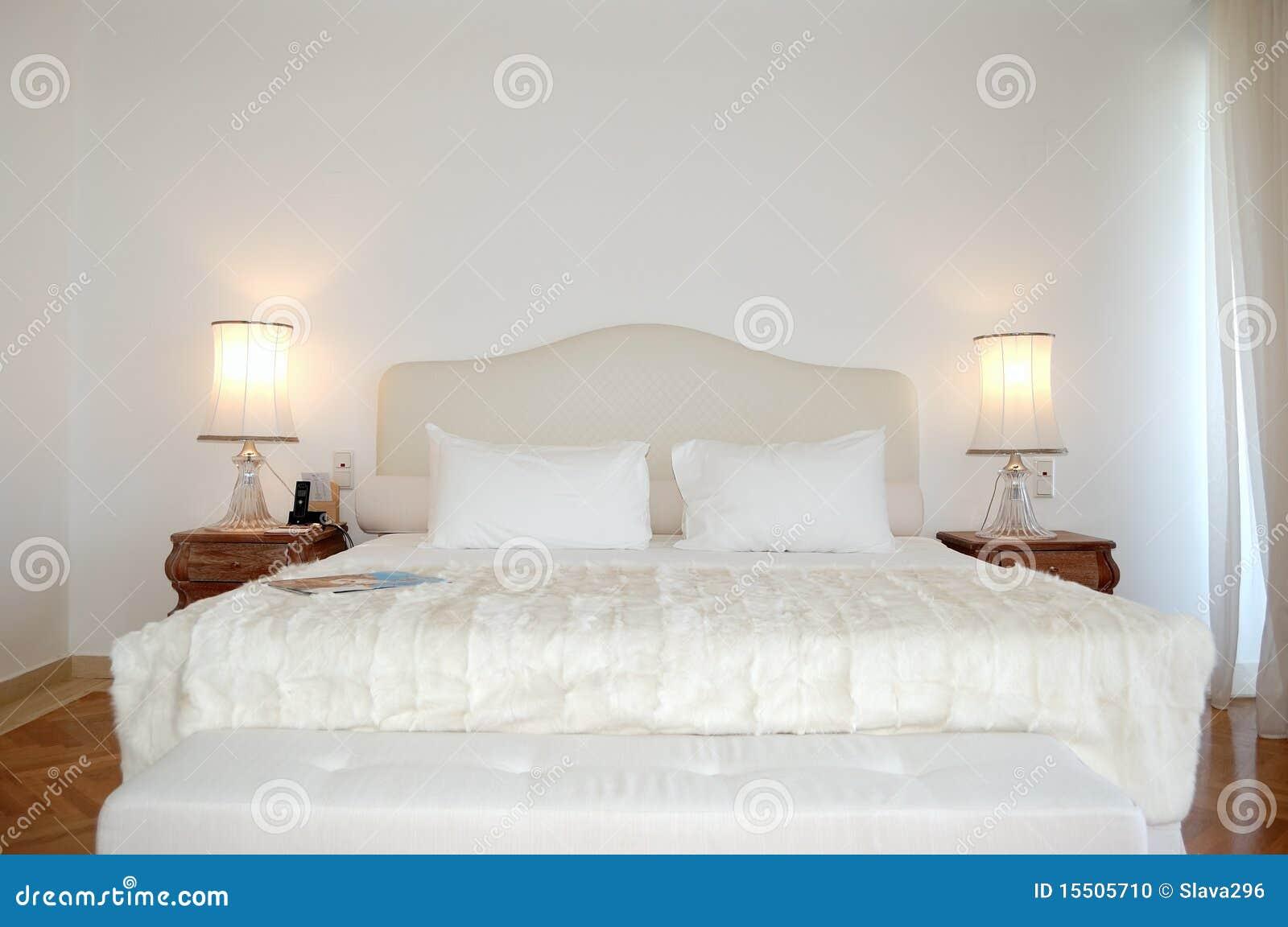 La camera da letto in appartamento di lusso dell 39 hotel - Camera da letto di lusso ...