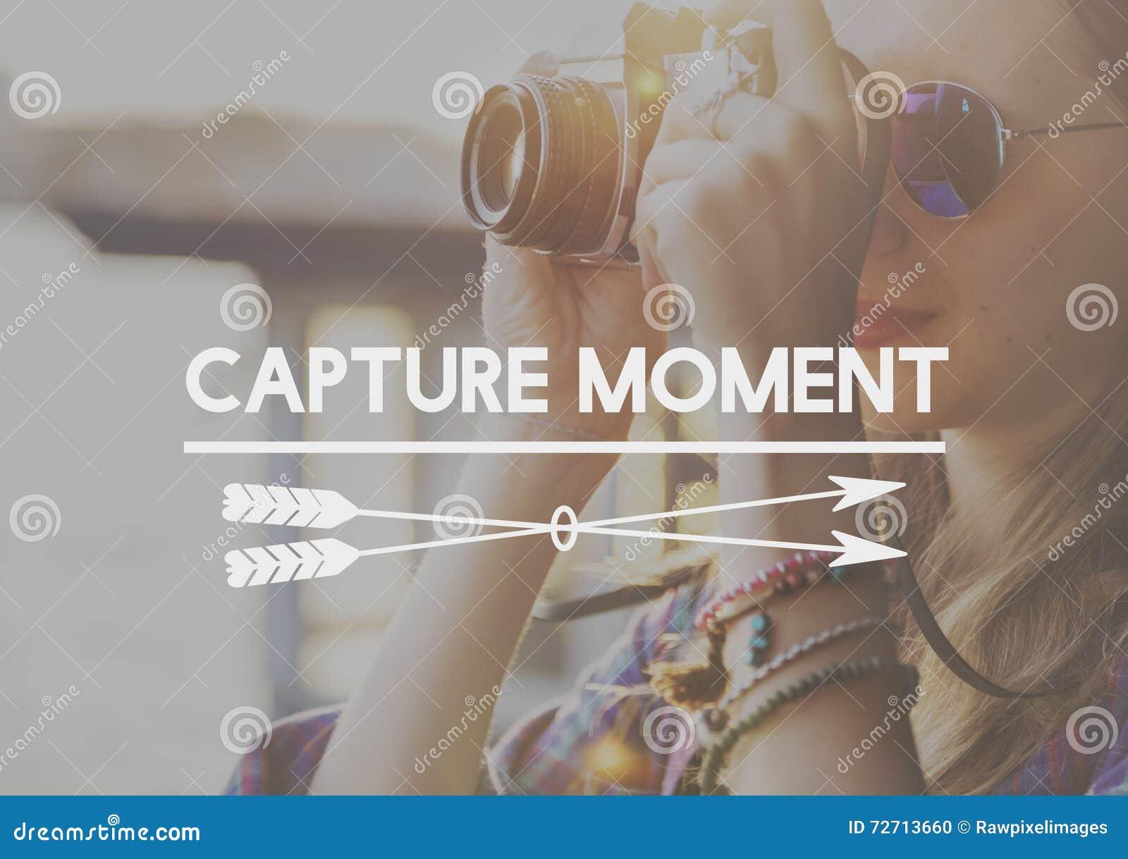 La captura recoge concepto de la experiencia de las cosas de los momentos no