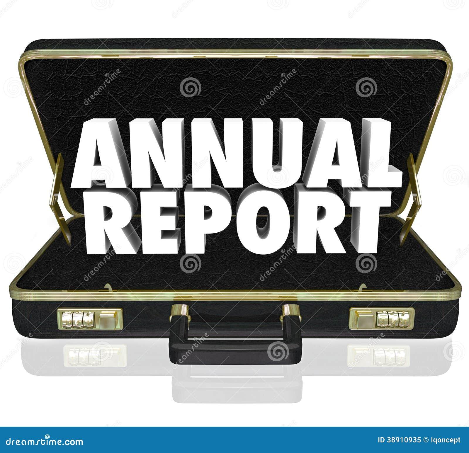 La cartella del rapporto annuale esprime il rendiconto finanziario
