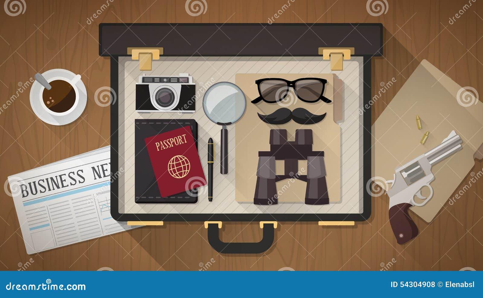 La cartera del detective