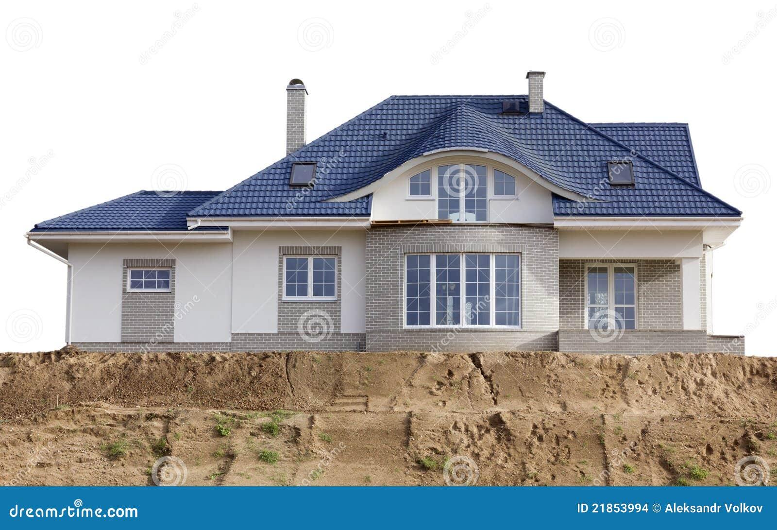 la casa costruita sulla sabbia immagini stock immagine