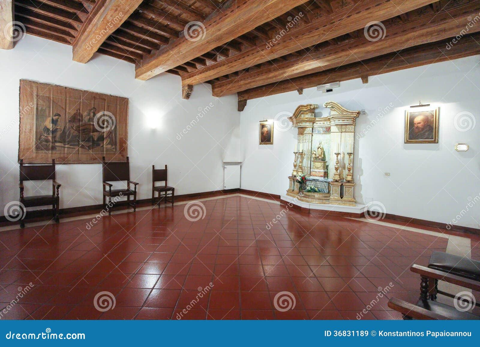 La casa di santa francesca romana a roma immagine stock - La casa di francesca ...