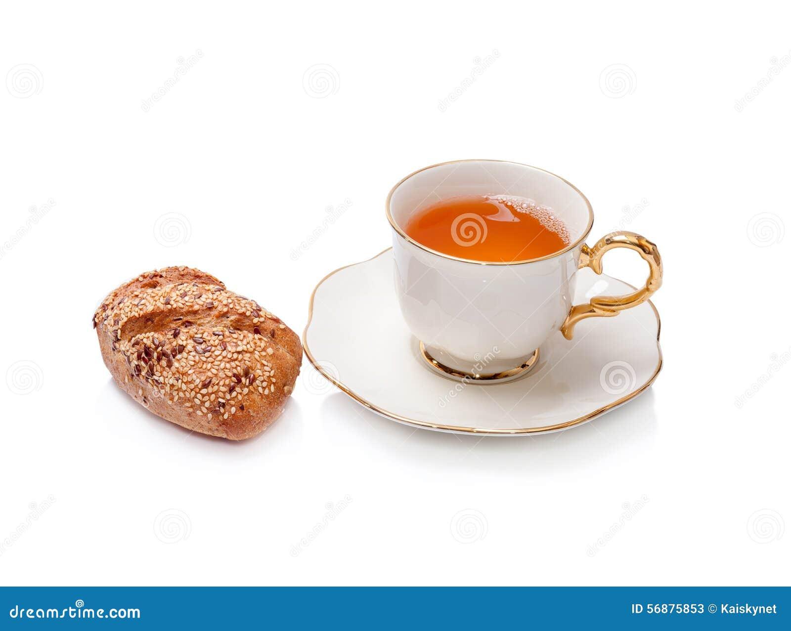 La casa ha prodotto il pane con un vetro di tè