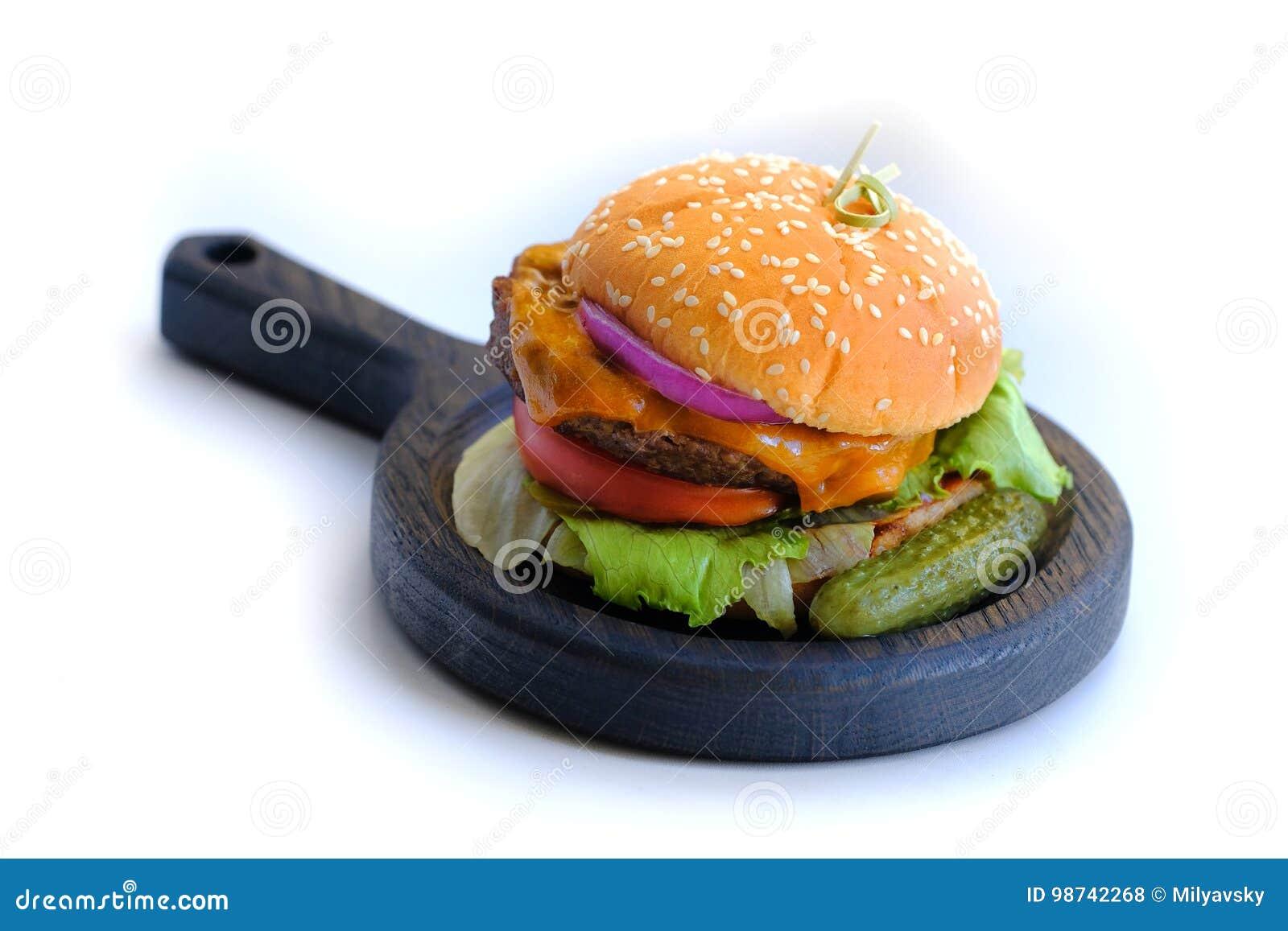 La casa ha prodotto l hamburger, alimenti a rapida preparazione