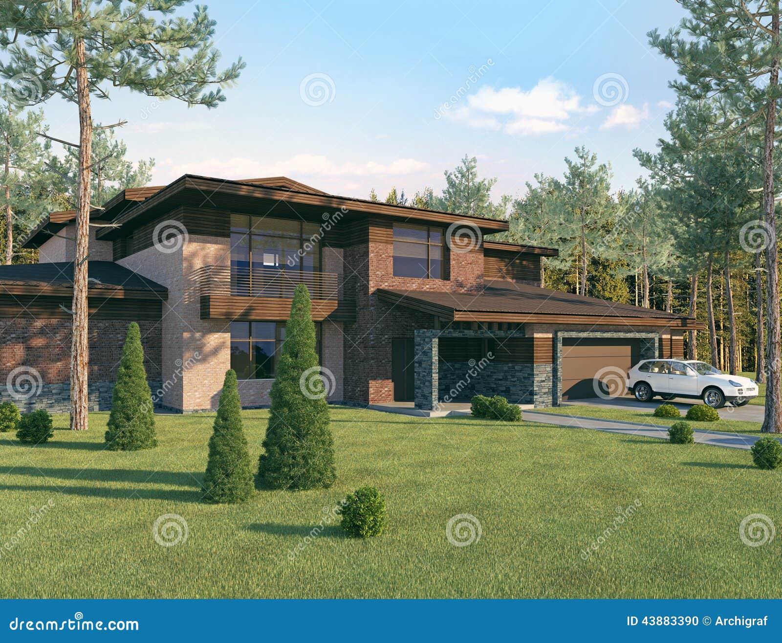 La casa ideal foto de archivo imagen de backyard casa 43883390 - La casa ideal ...