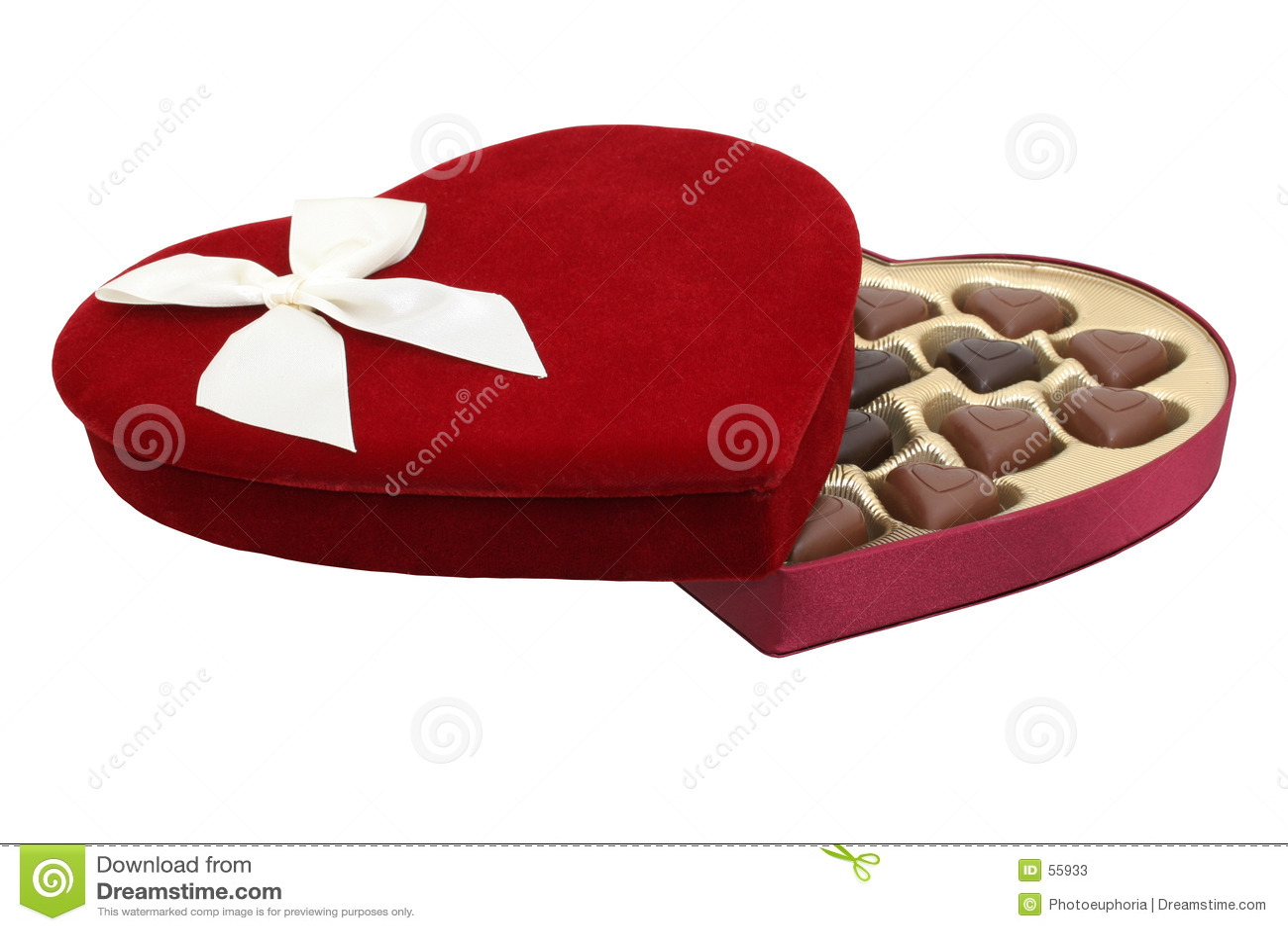 La casella di cuore ha modellato il cioccolato con il percorso di residuo della potatura meccanica (immagine 8.2mp)