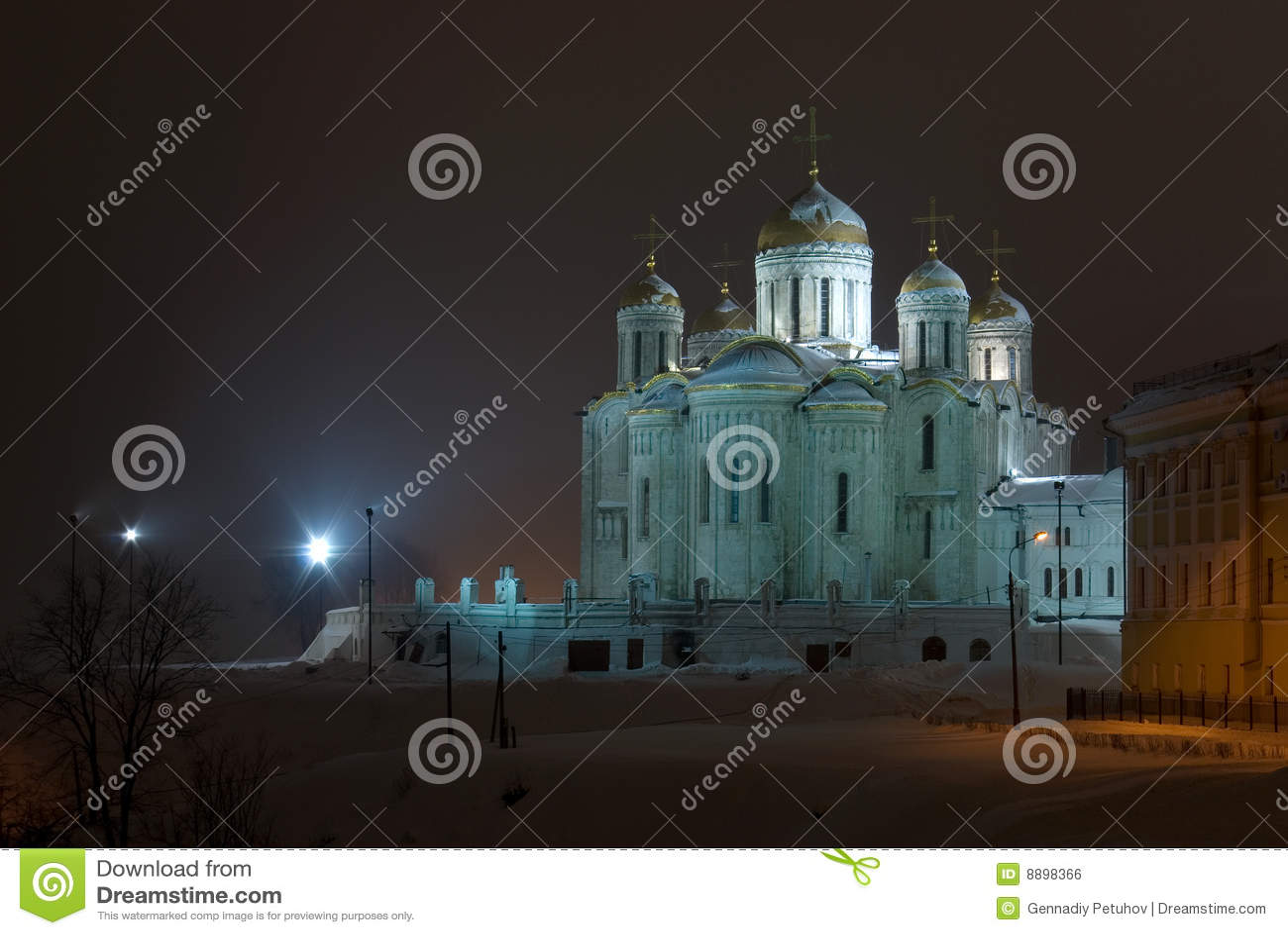 La catedral de Dormition. Vladimir. Rusia
