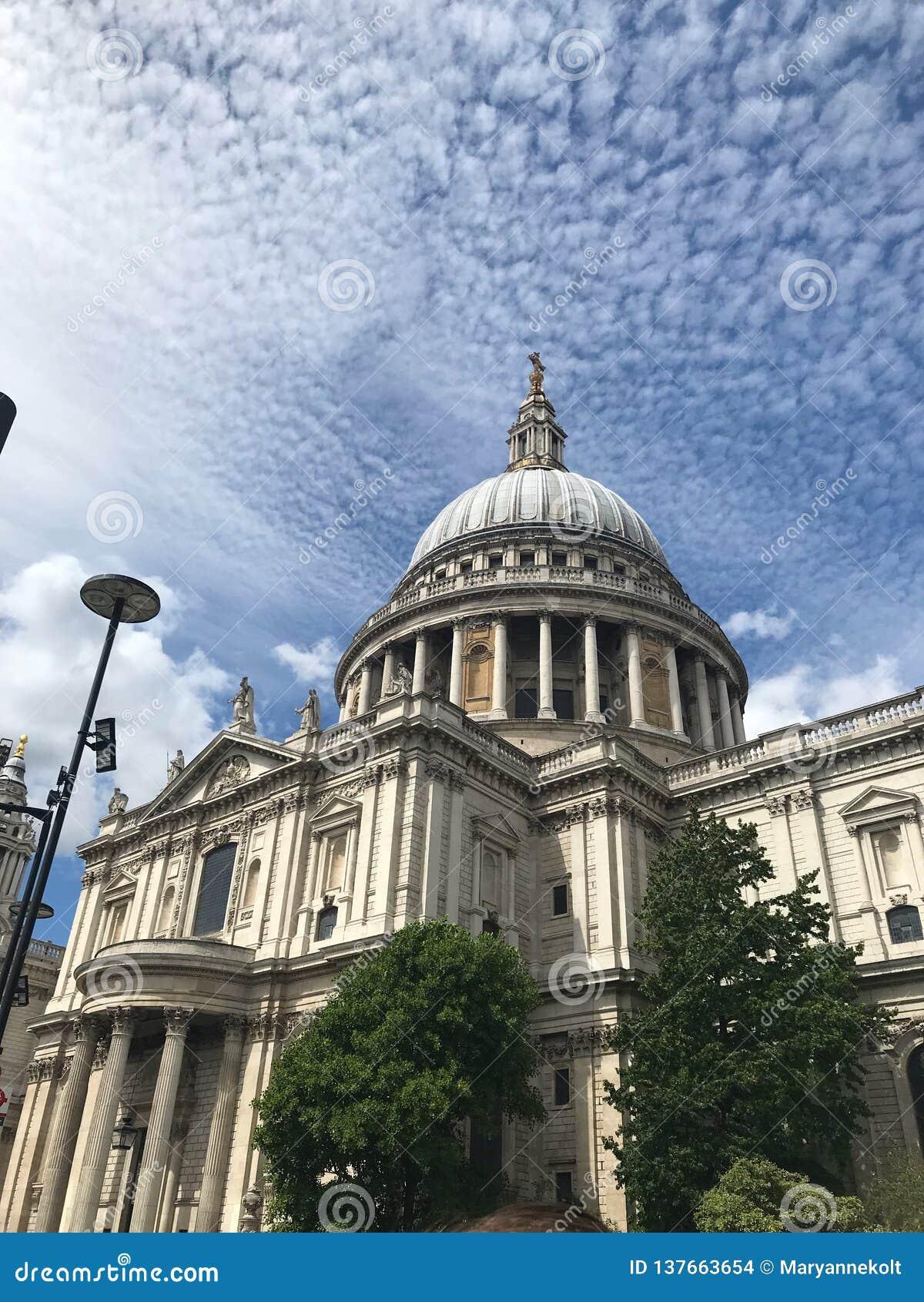 La catedral de StPaul, Londres, Reino Unido