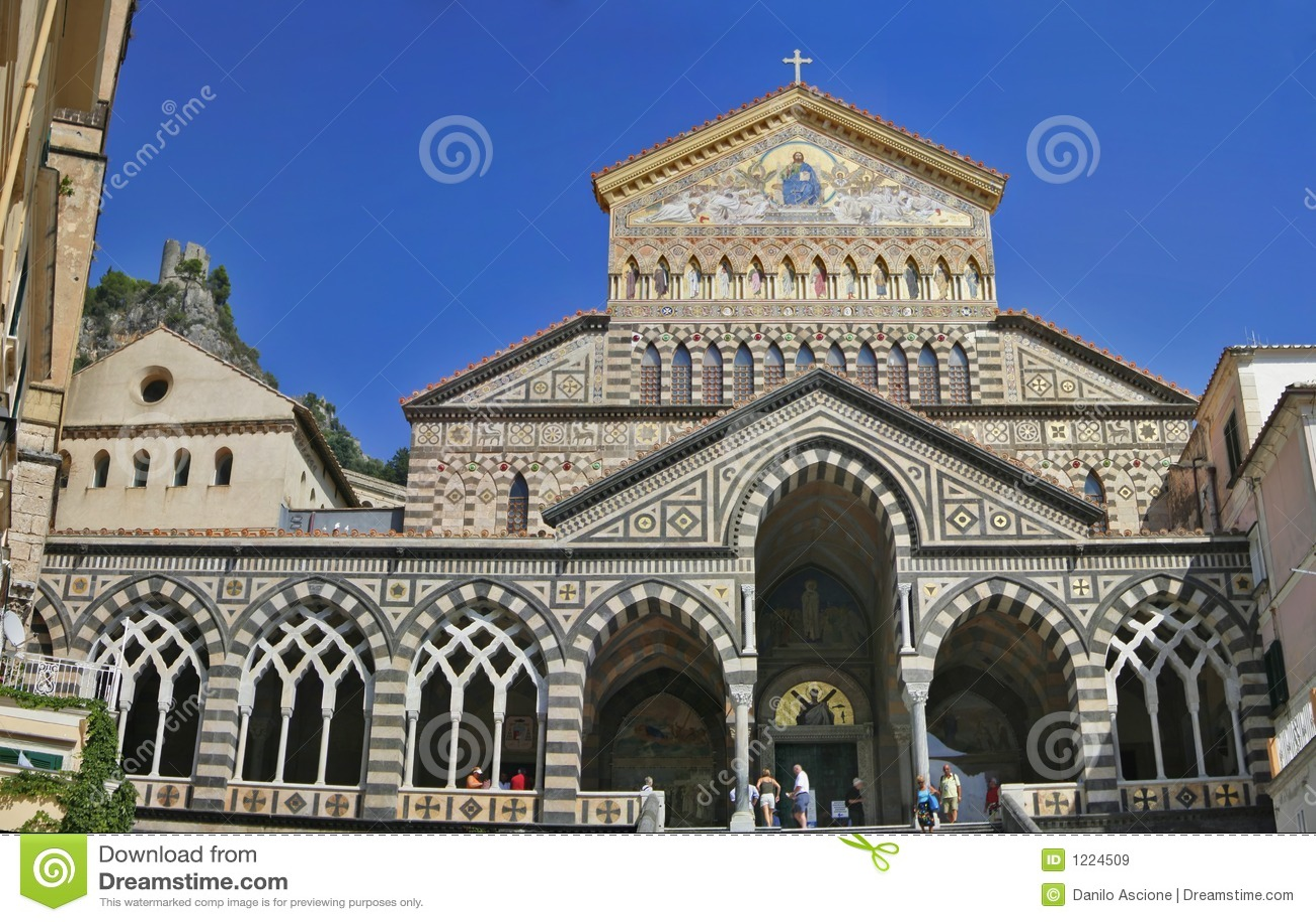 La cathédrale d Amalfi