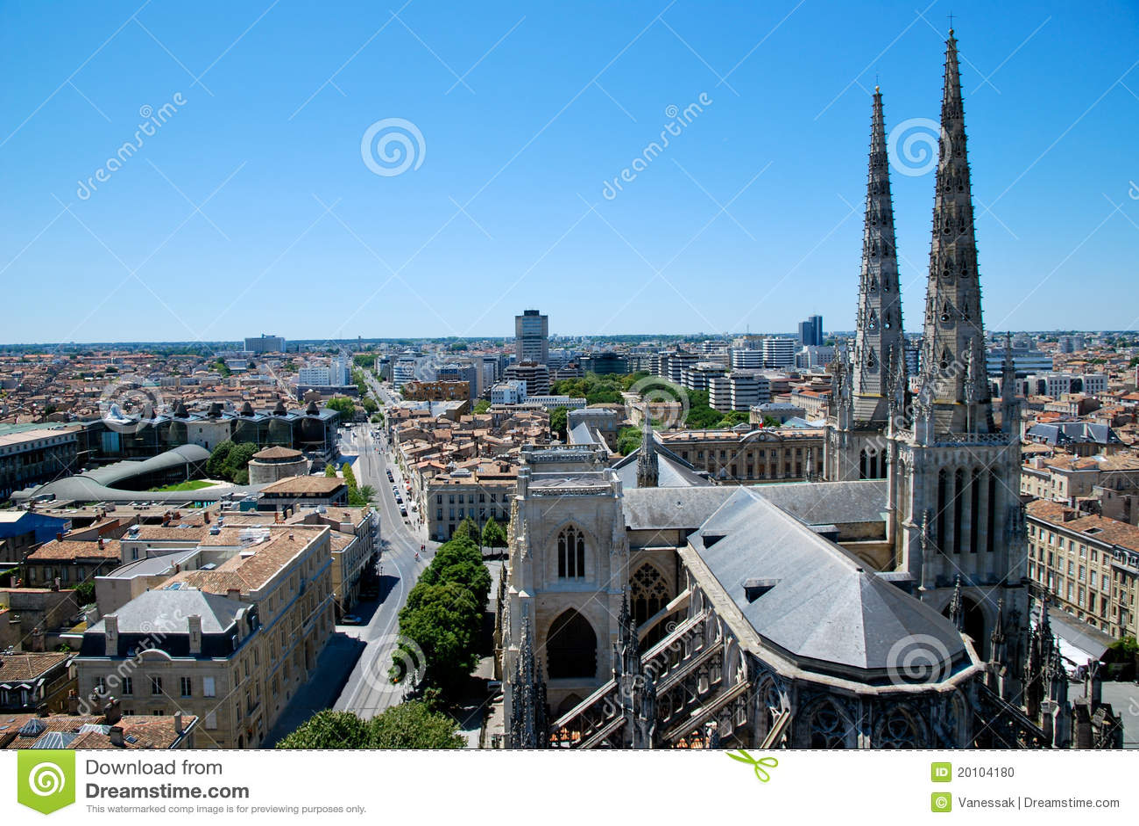 La cathédrale d Andrew en Bordeaux