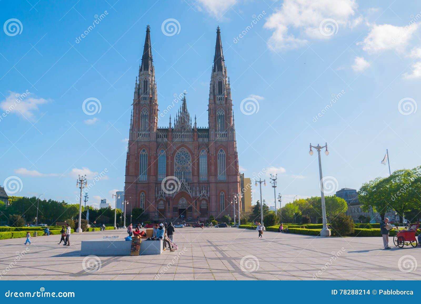 La cathédrale dans la ville de la La Plata
