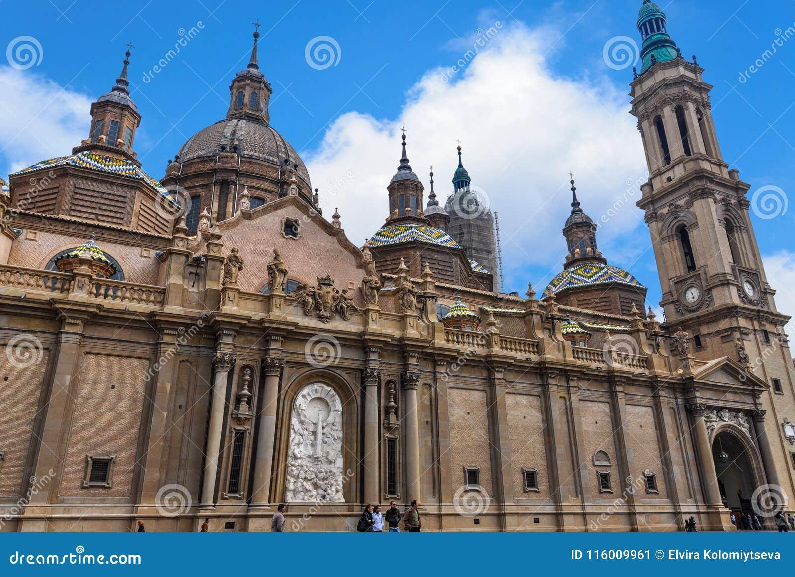 La cathédrale de basilique de notre Madame du pilier