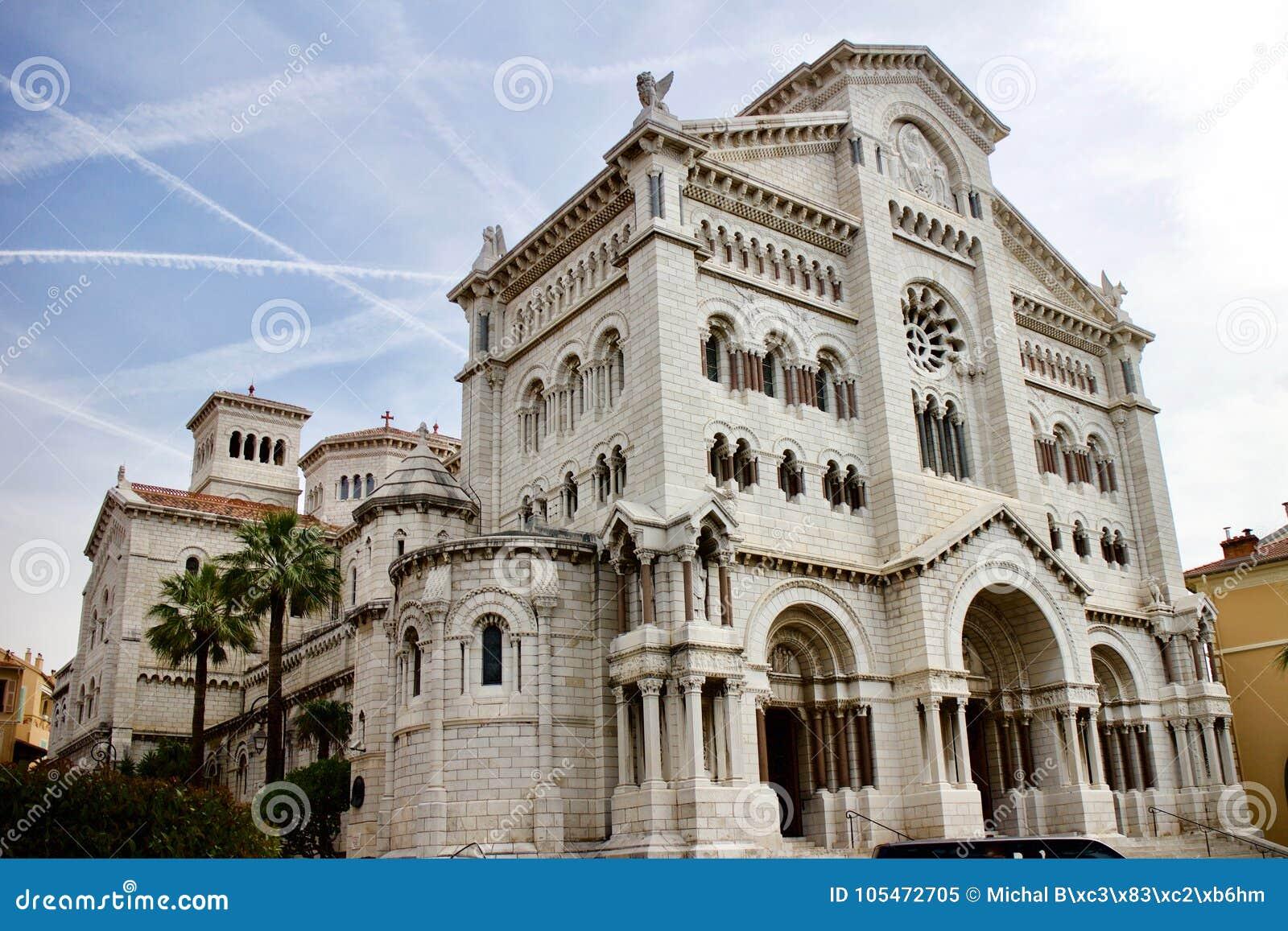 La cathédrale de Nicholas de saint dans la cathédrale de Monaco
