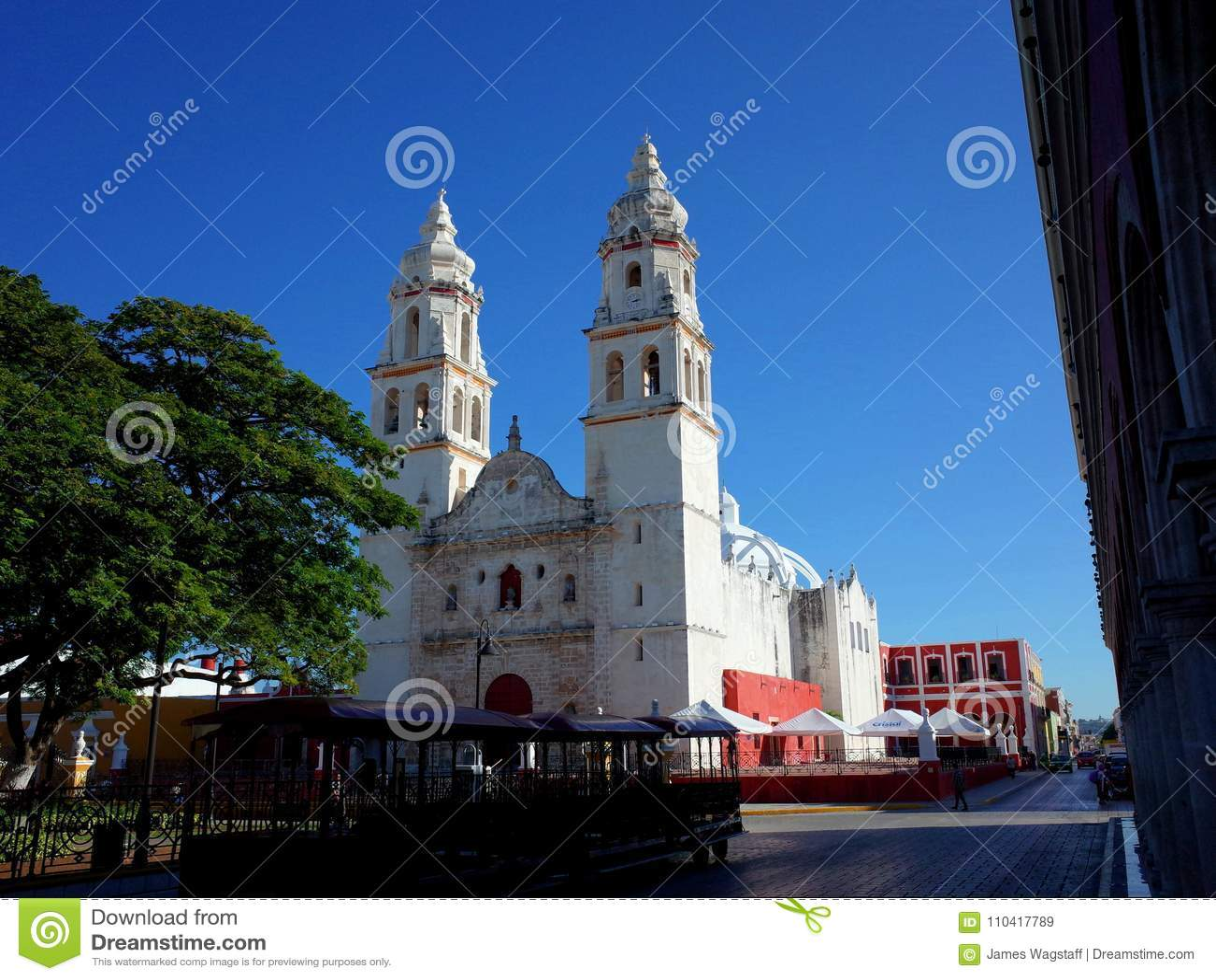 La cattedrale della nostra signora della concezione pura nella città murata di Campeche