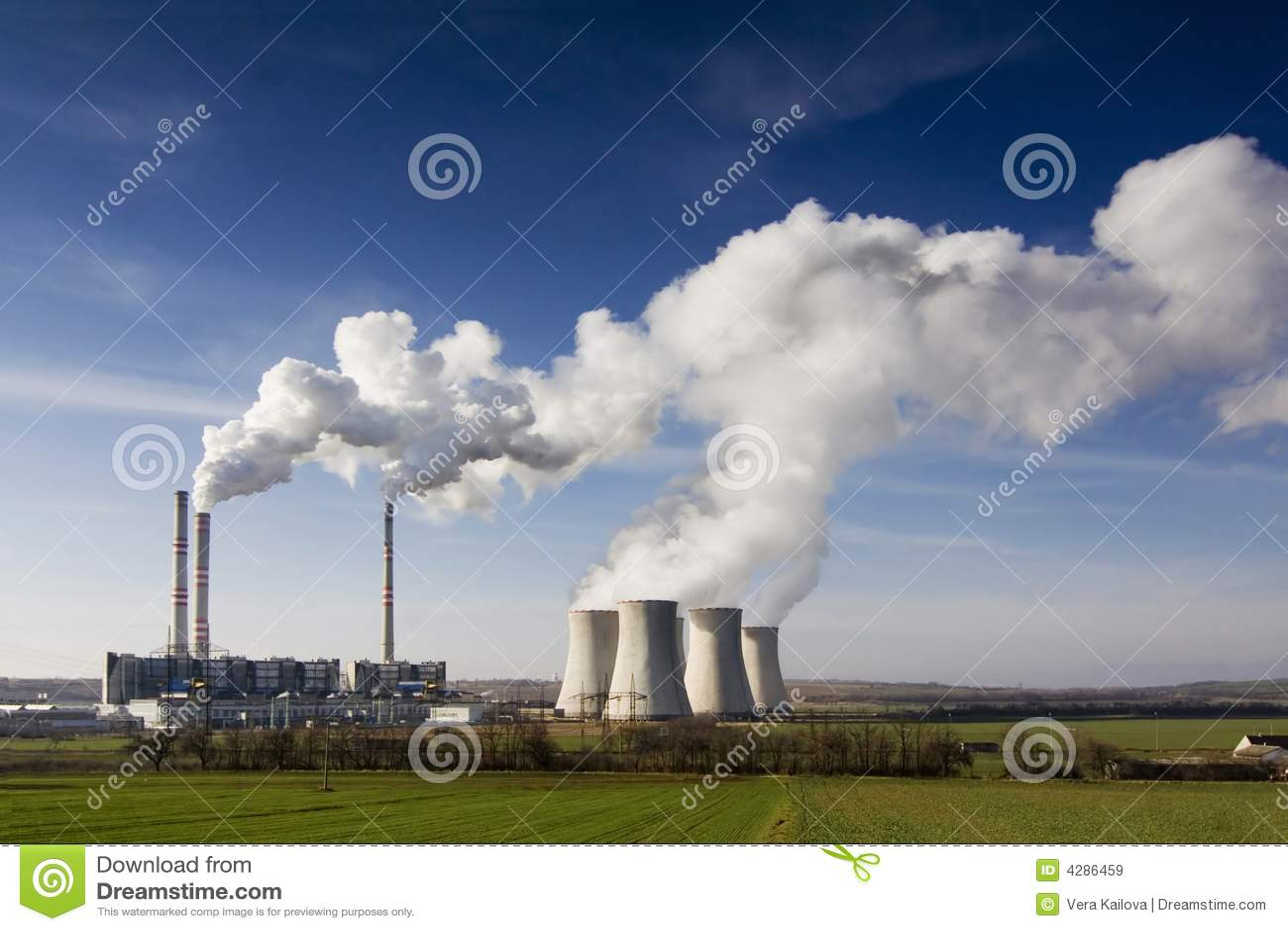 La centrale électrique Pocerady