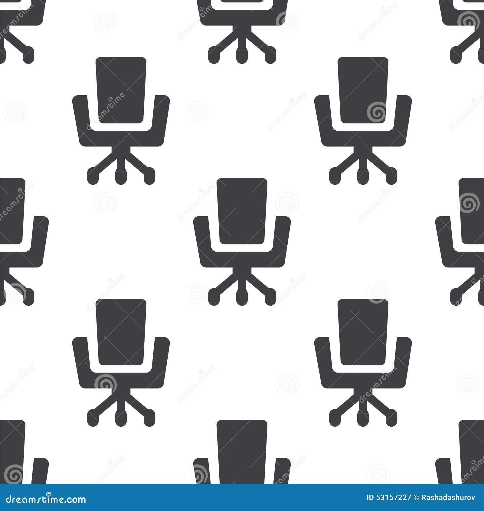 La Chaise De Bureau Dirigent Le Modele Sans Couture
