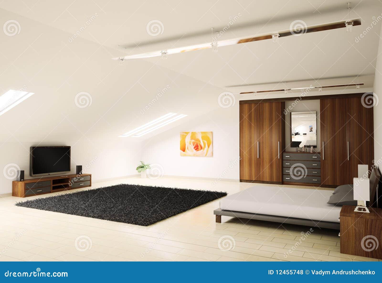 La chambre coucher moderne 3d int rieur rendent photos for Interieur de chambre a coucher