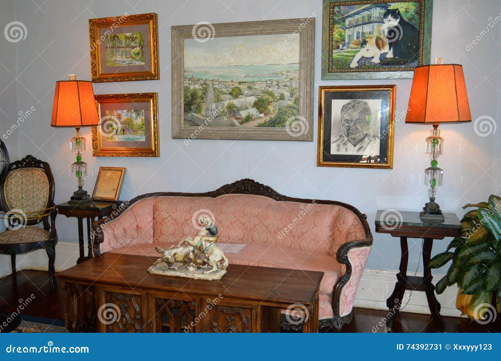 La Chambre Key West La Floride D Ernest Hemingway Interieur