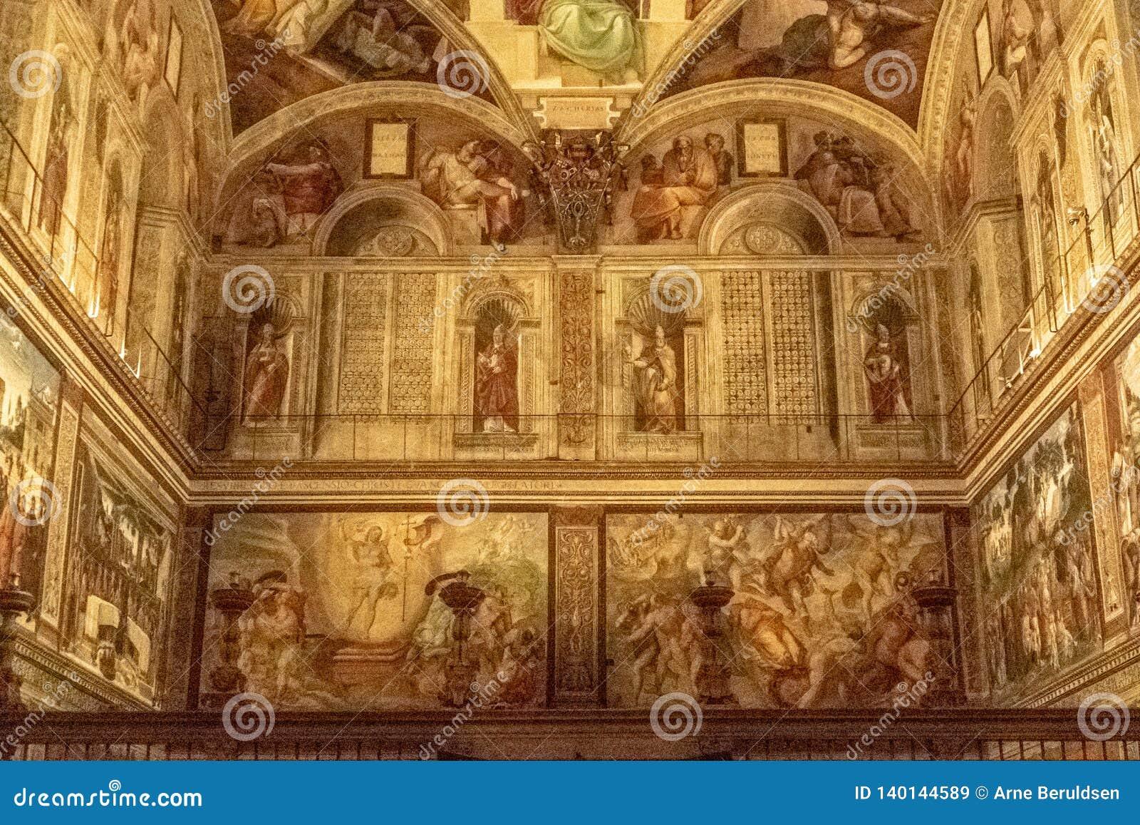 La chapelle de Sistine
