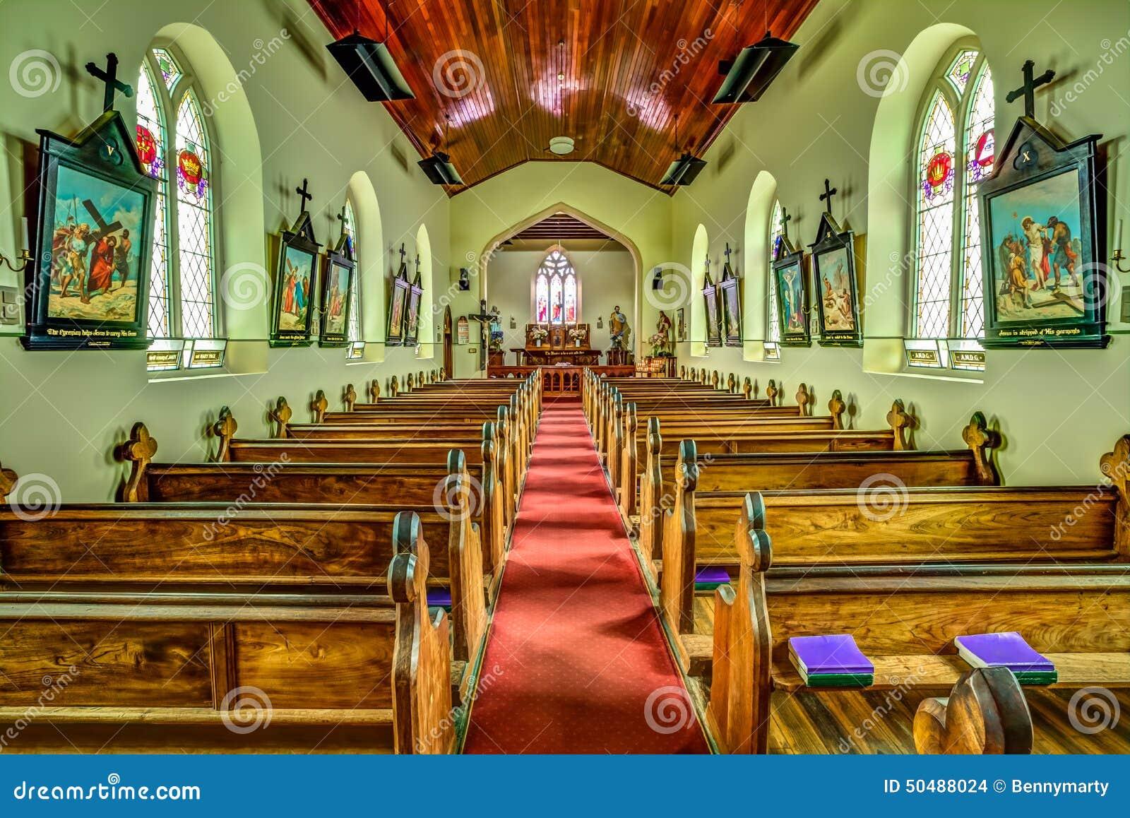 La chiesa di St John a Richmond, Tasmania
