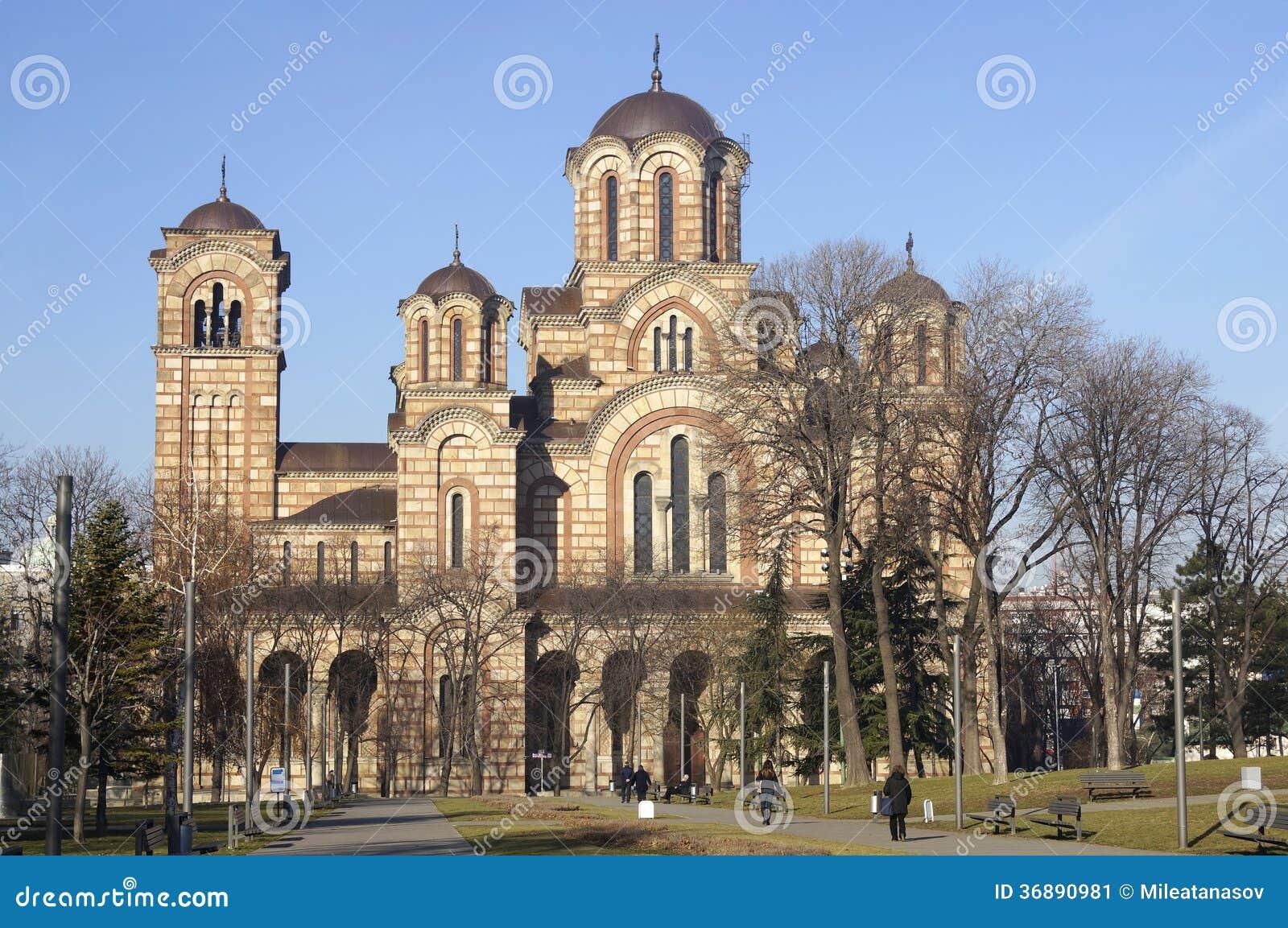 Download La chiesa di St Mark immagine stock. Immagine di tempiale - 36890981