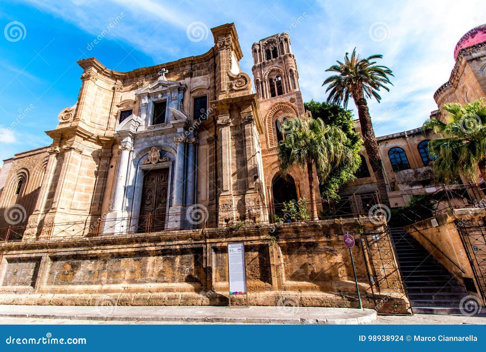 La chiesa Martorana, a Palermo, l Italia